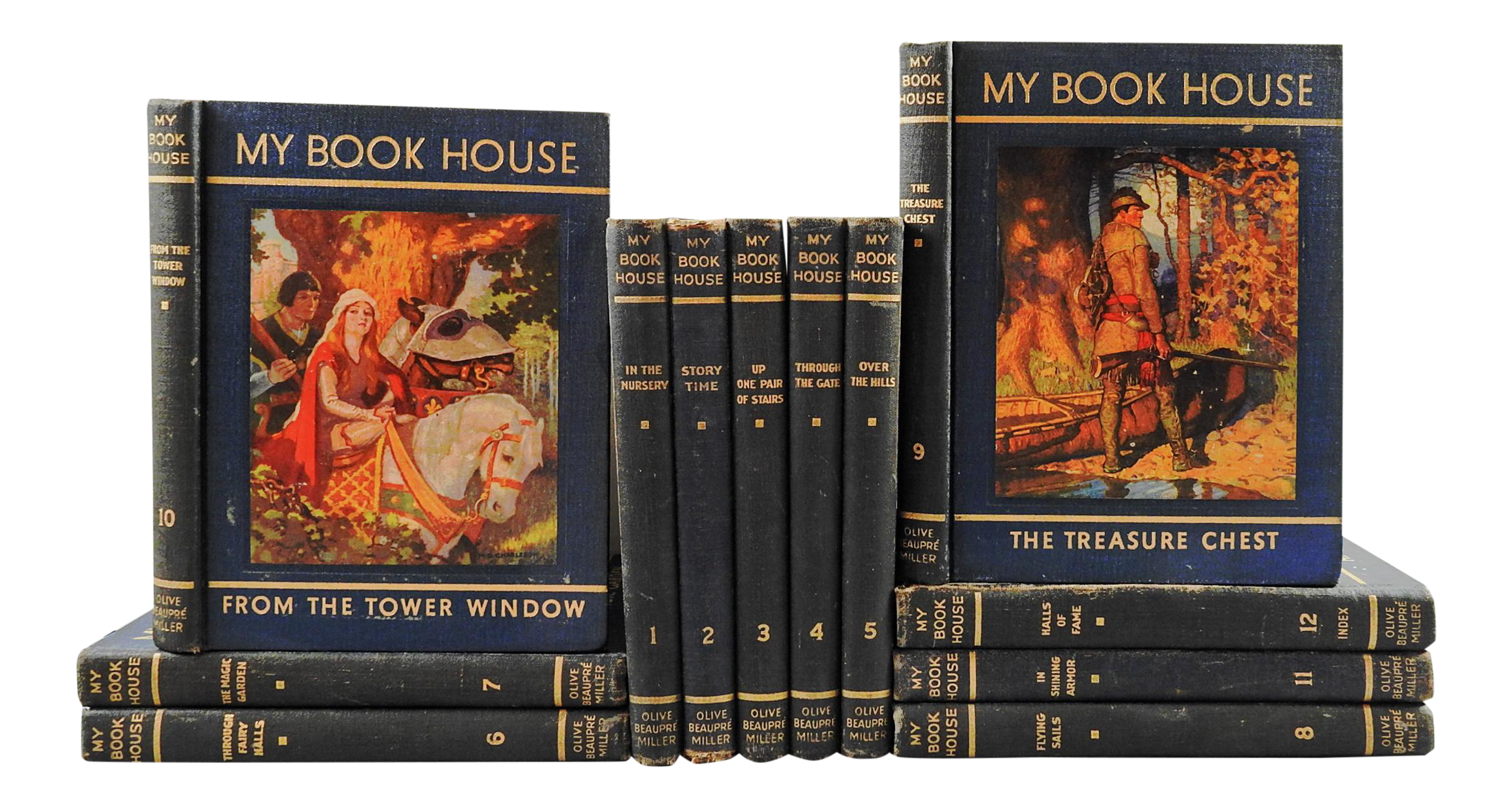 1937 My Book House Volumes Set Of 12 Chairish