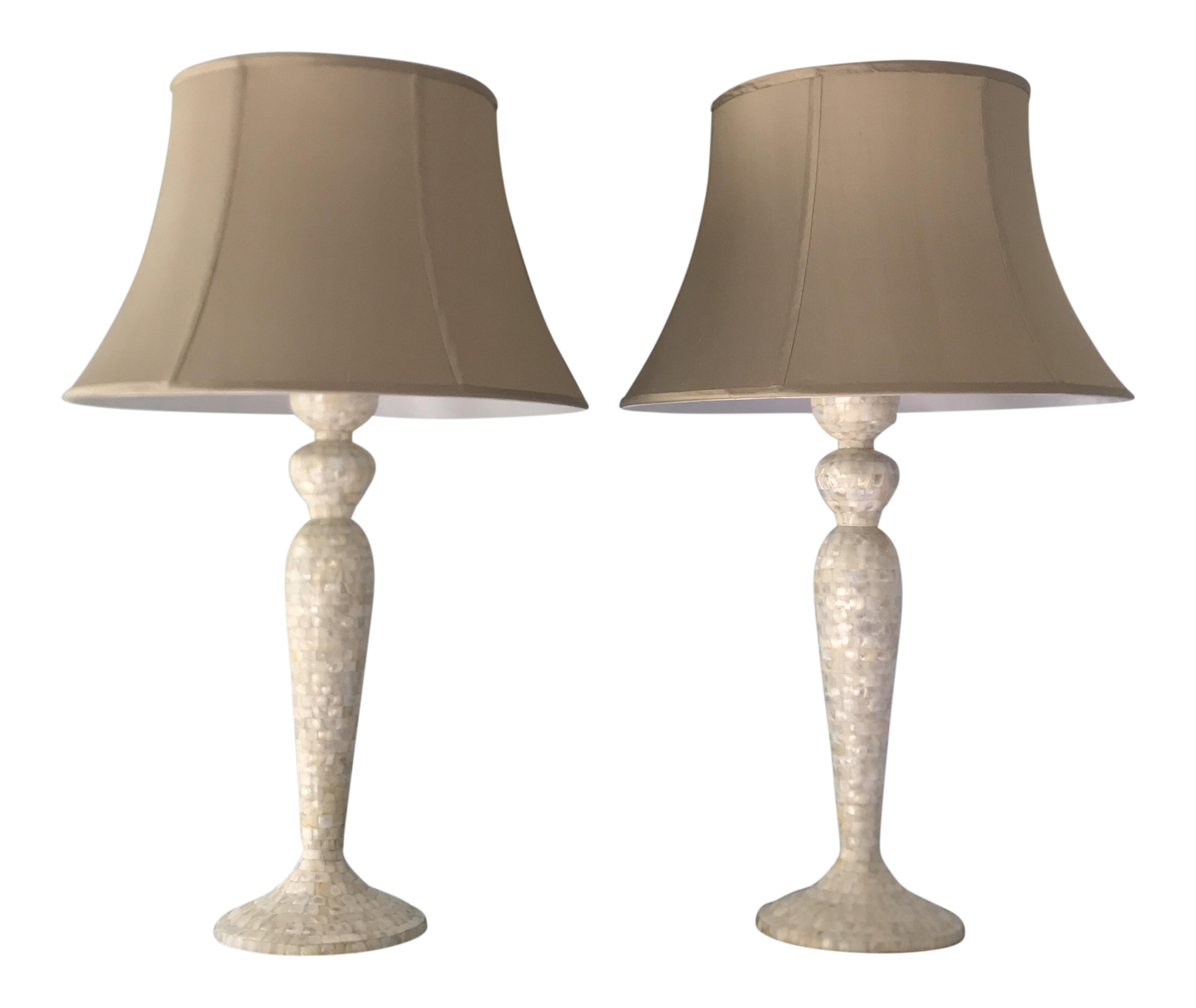 Jamie young harlow table lamps a pair chairish for 0co om cca 9 source table