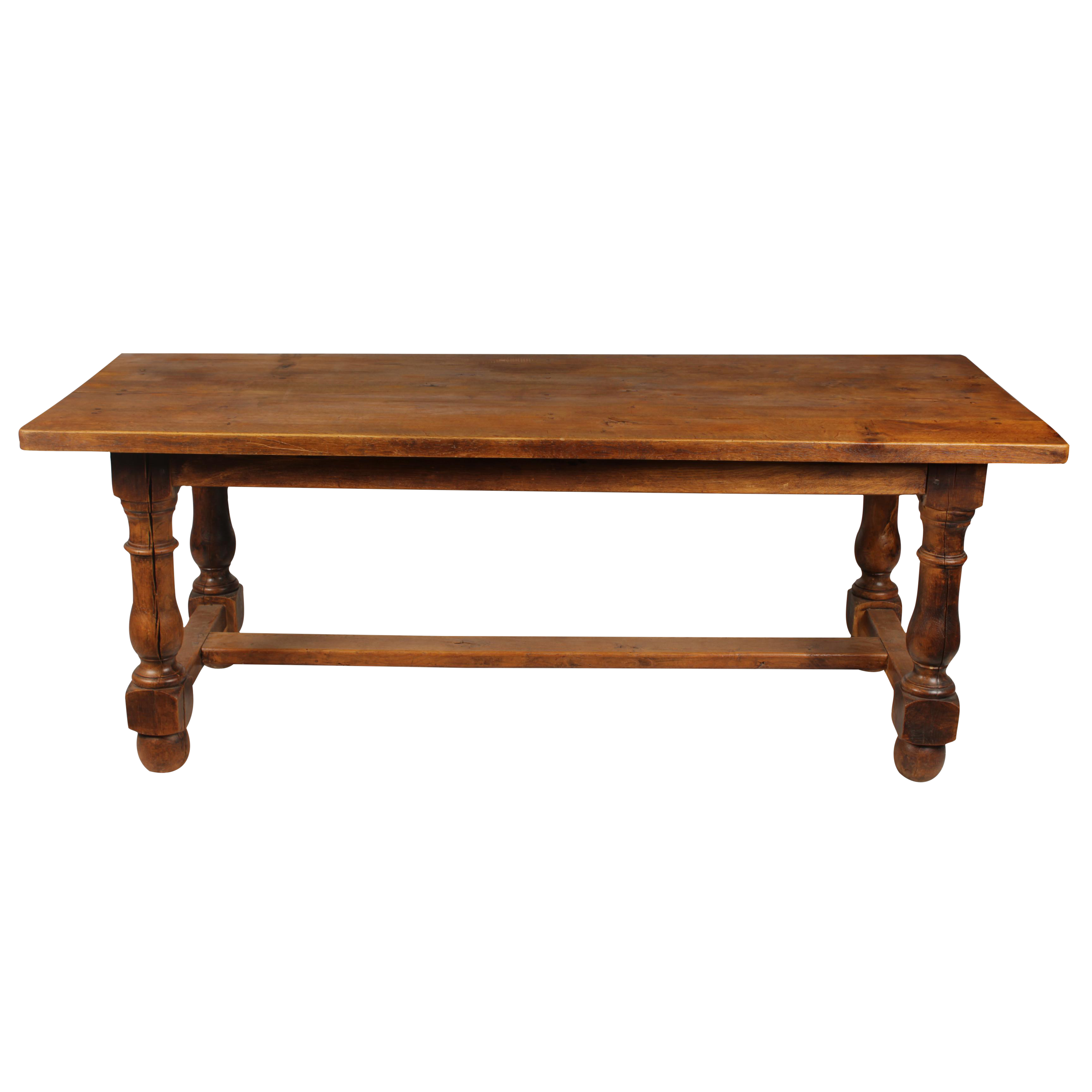 Vintage used baroque tables chairish baroque 1930s tavern dining table geotapseo Image collections