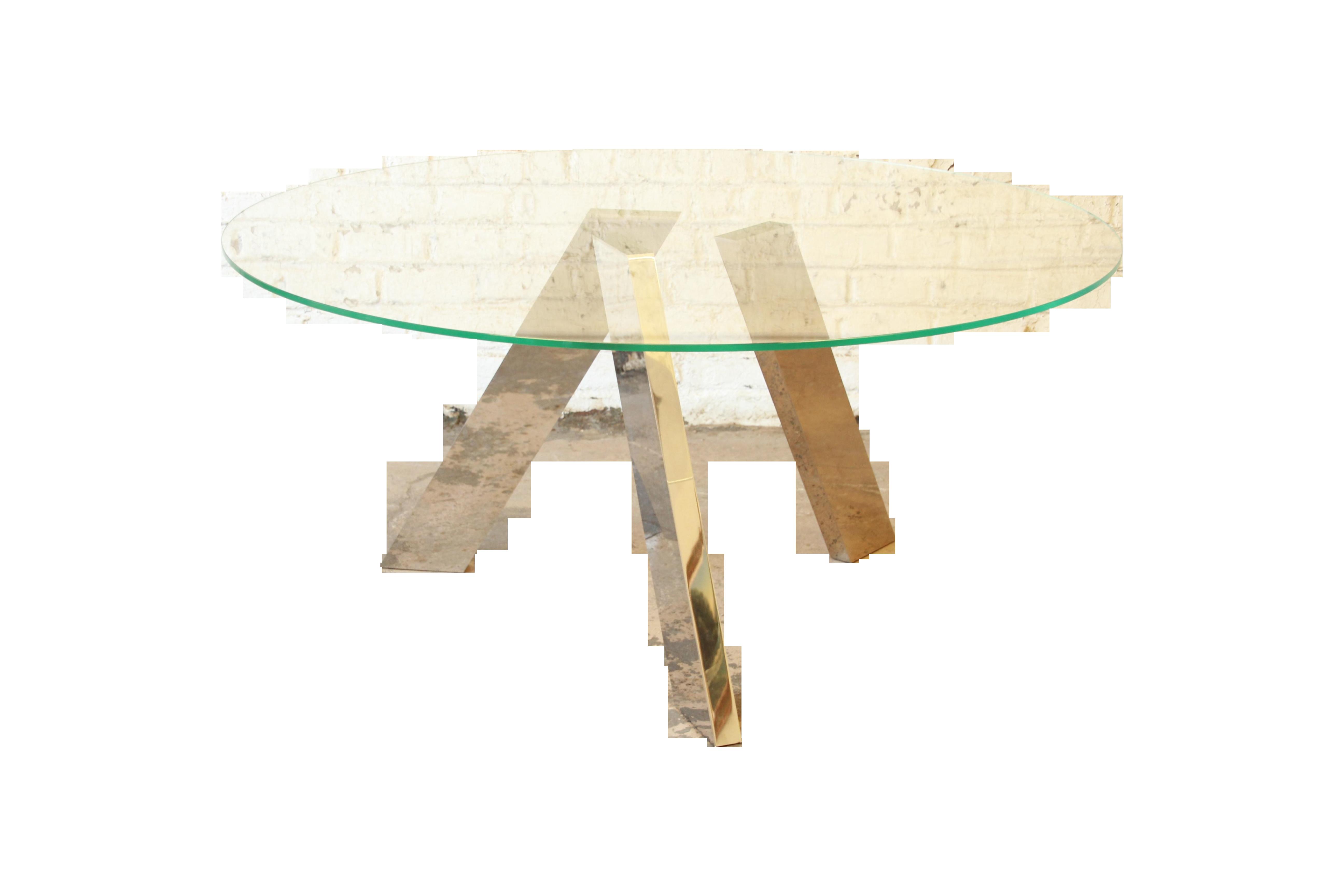 Roche Bobois Dining Table W Mirrored Legs Chairish