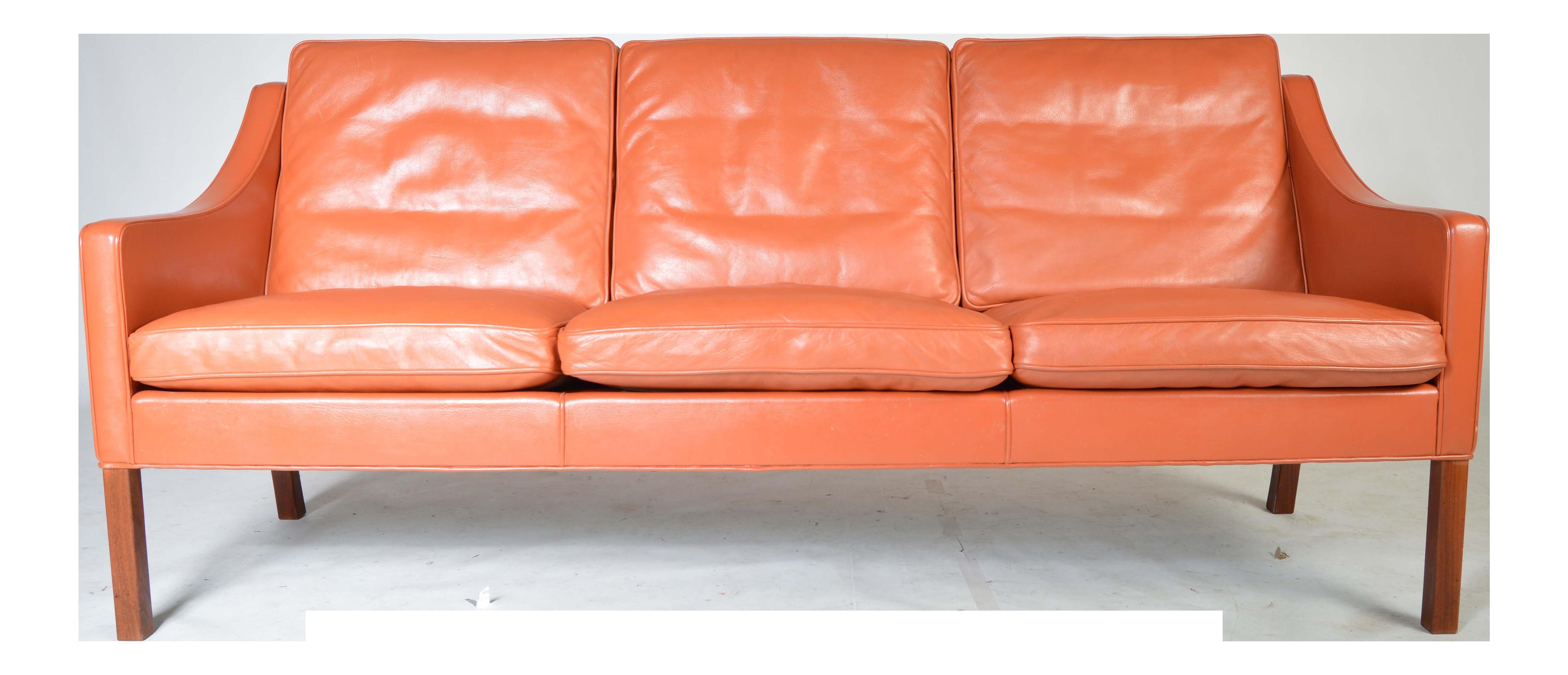 Borge Mogensen for Fredericia Danish Modern Sofa Model 2209 1978