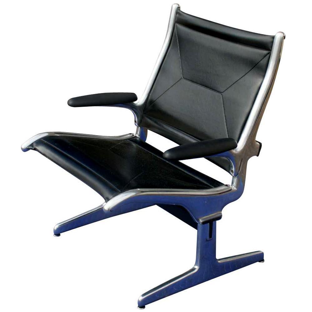 Herman Miller Eames Airport Sling Seating Lounge Chair