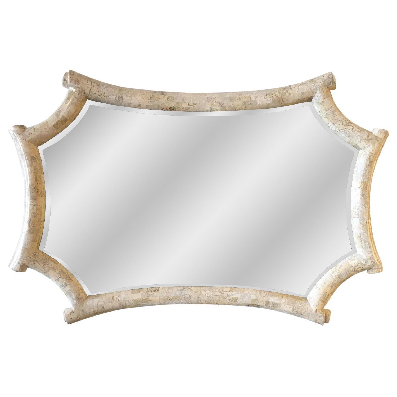 Maitland Smith Tessellated Stone Mirror Chairish