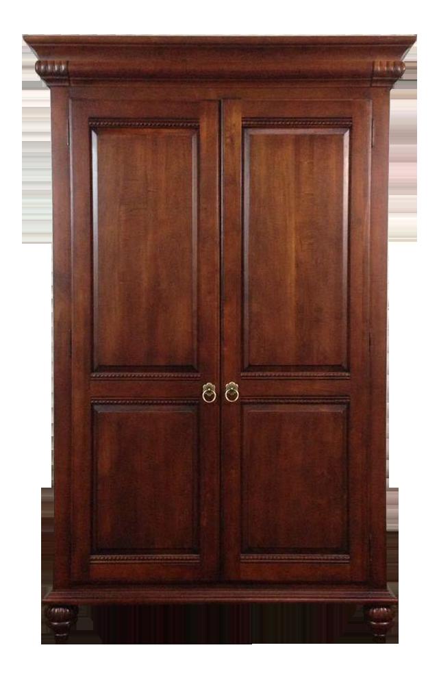 ethan allen british classics mahogany armoire
