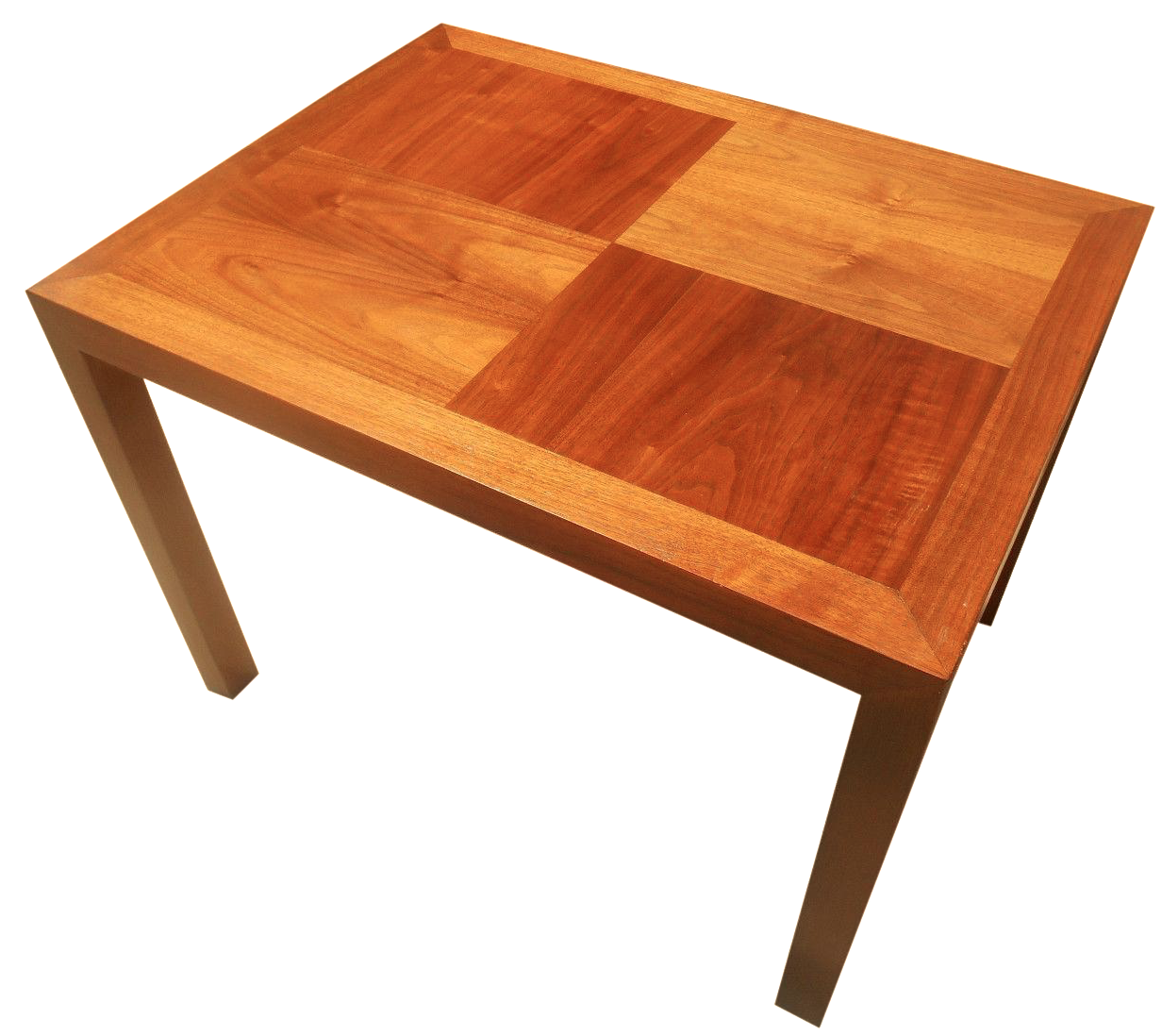 Mid Century Lane Copenhagen Drop Leaf Coffee Table: Lane Mid-Century Parquet Side Table