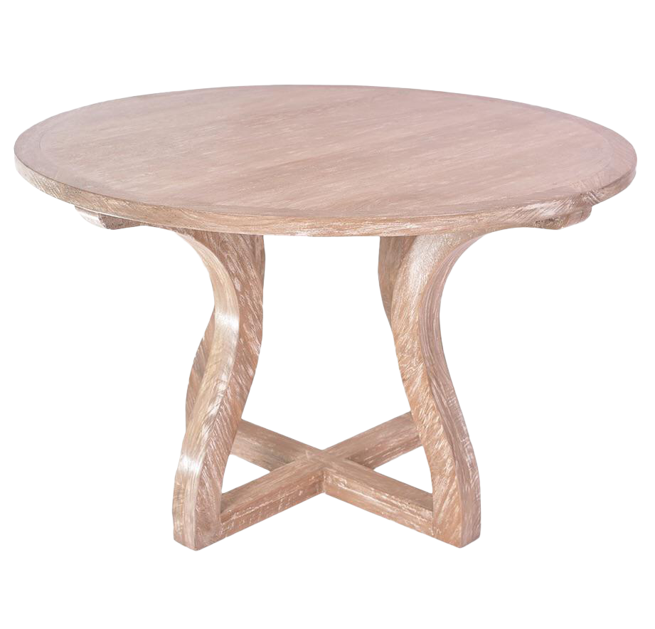 Cerused Oak Round Dining Table Chairish : cerused oak round dining table 0363 from www.chairish.com size 921 x 884 png 373kB