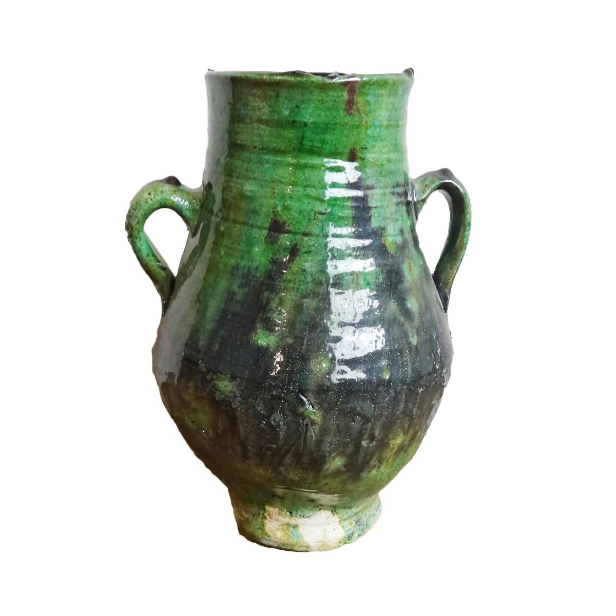 Ceramic Green Vase Chairish