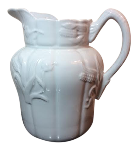 Vintage Two S Company China Farmhouse Pitcher Chairish