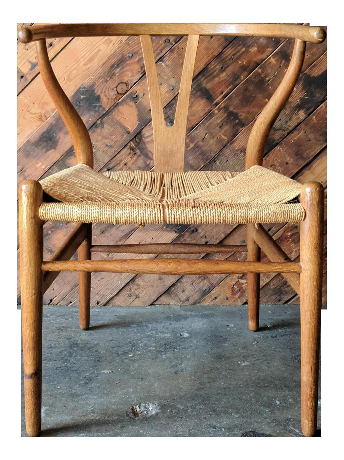Vintage Wegner Style Teak Danish Modern Chair Chairish
