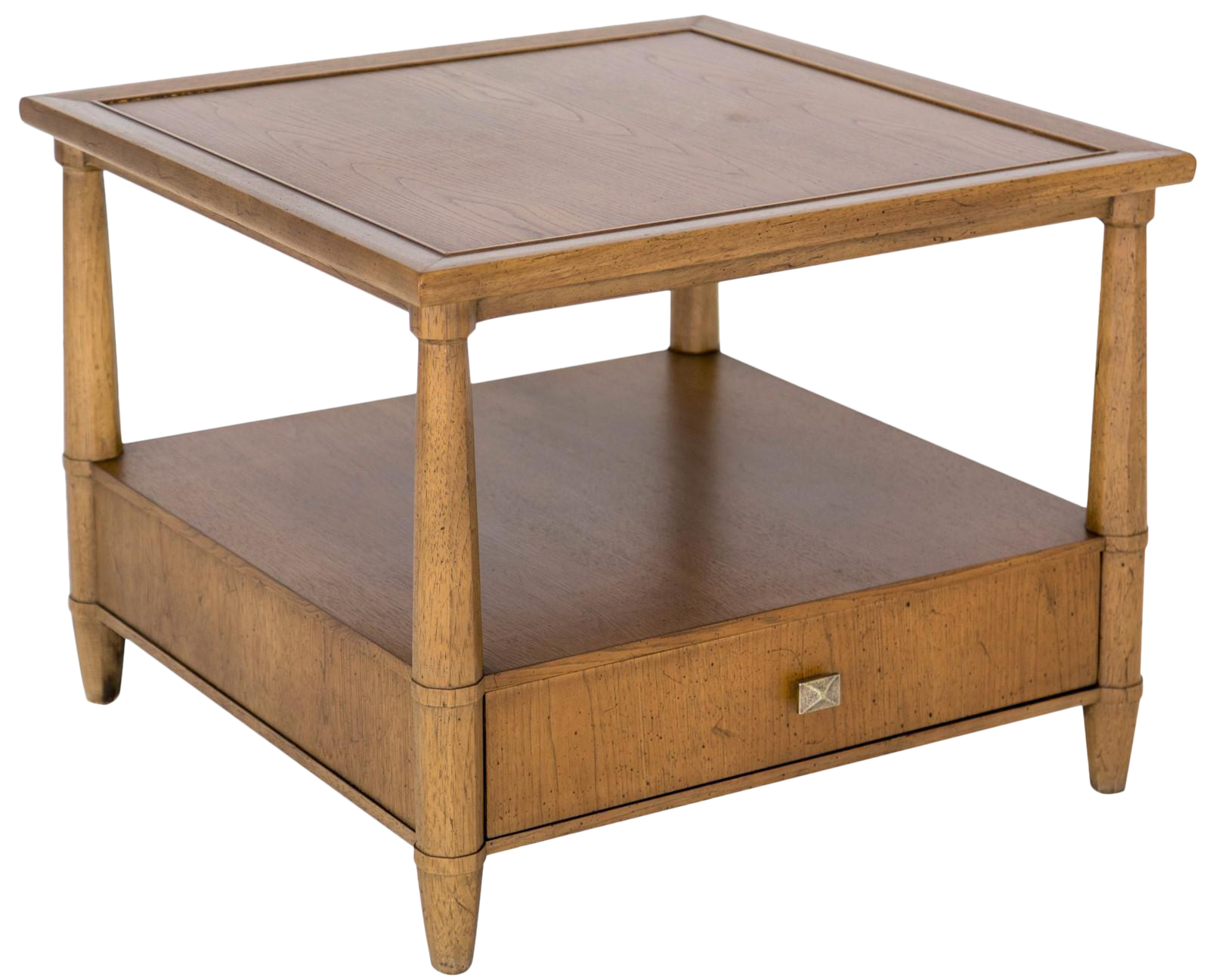 Henredon side table with drawer chairish for C table with drawer