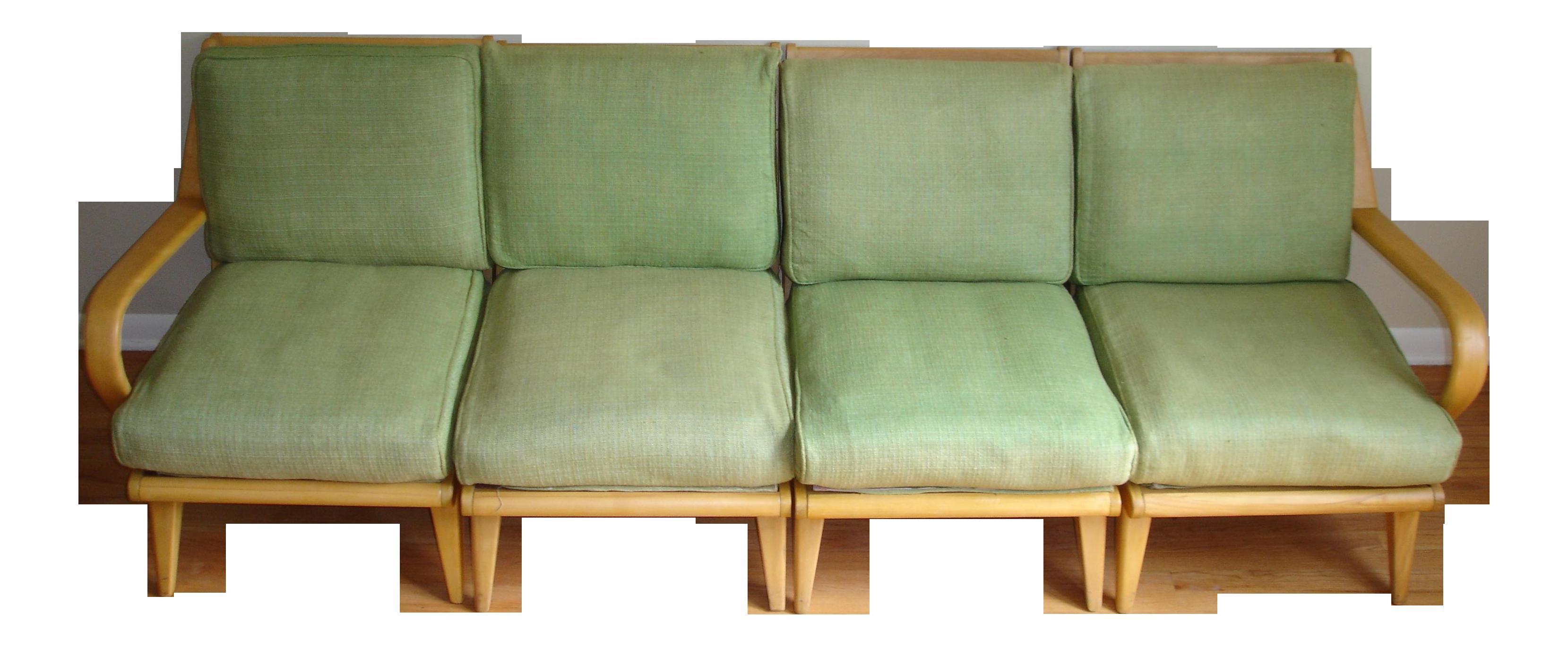 Heywood Wakefield Aristocraft 4 Piece Sectional Sofa