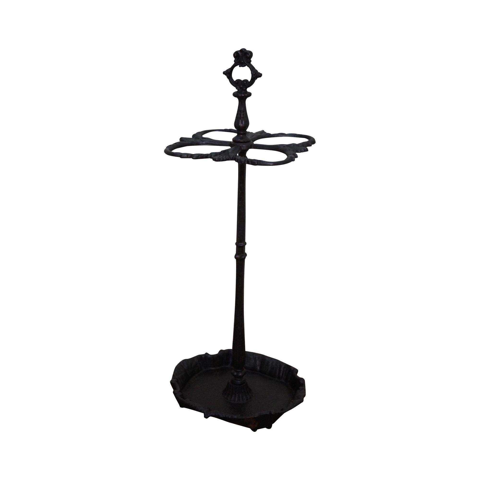 Umbrella Stand Ireland: Antique Victorian Iron Umbrella Stand