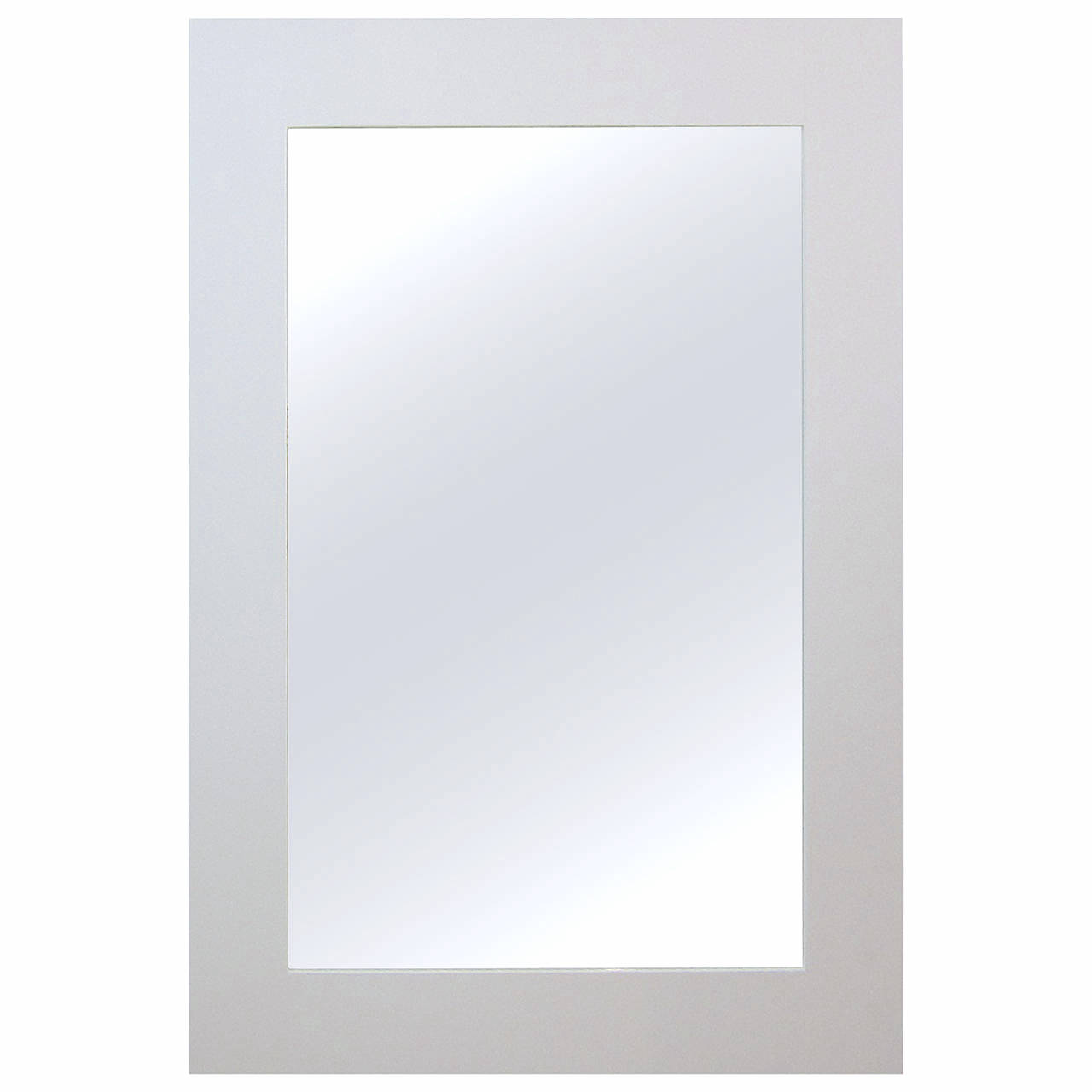 White lacquered standing mirror chairish for White long standing mirror