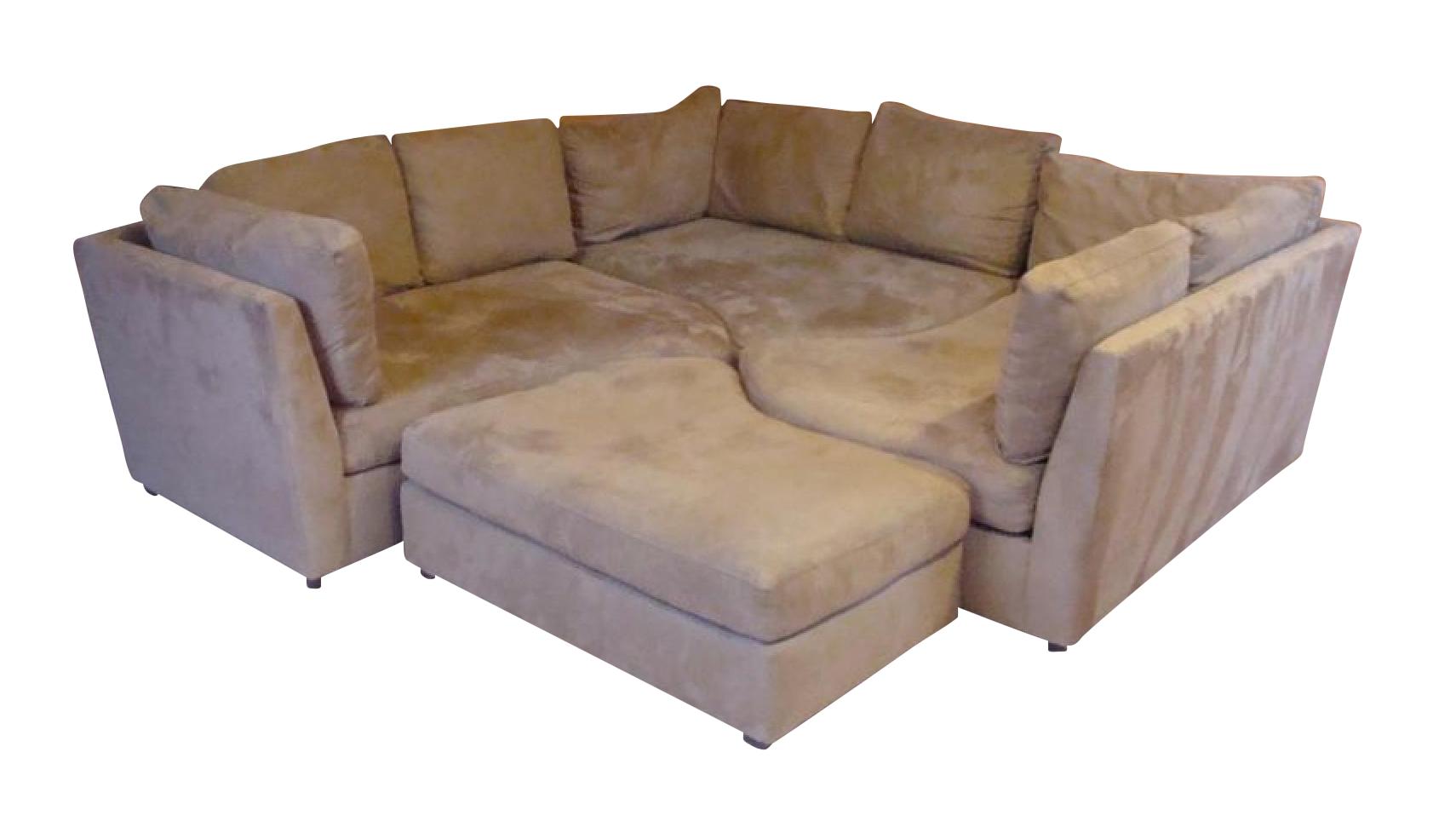 Puzzle Couch Sectional Chairish