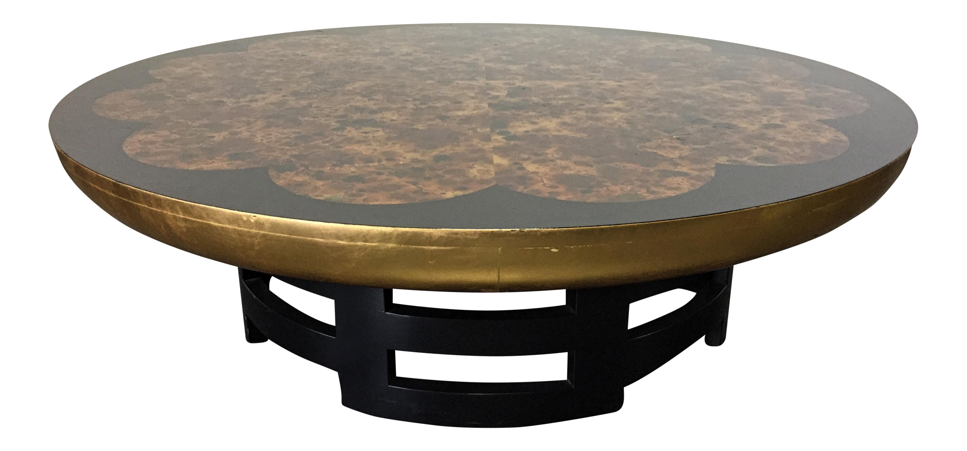 Kittinger Muller & Barringer Mid Century Lotus Coffee Table