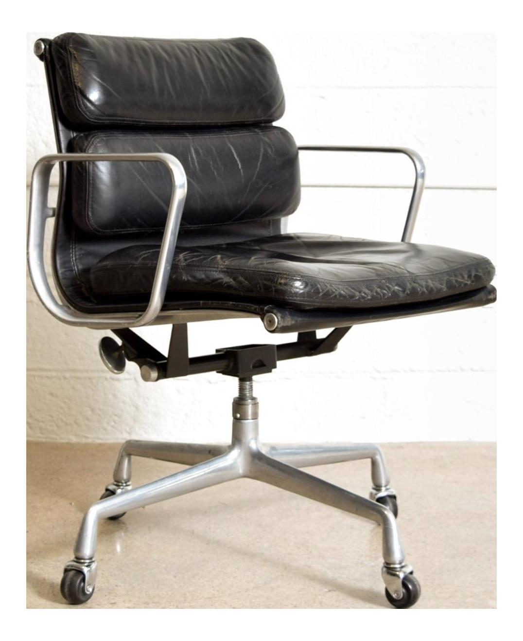 Original Eames For Herman Miller Aluminum Group Soft Pad