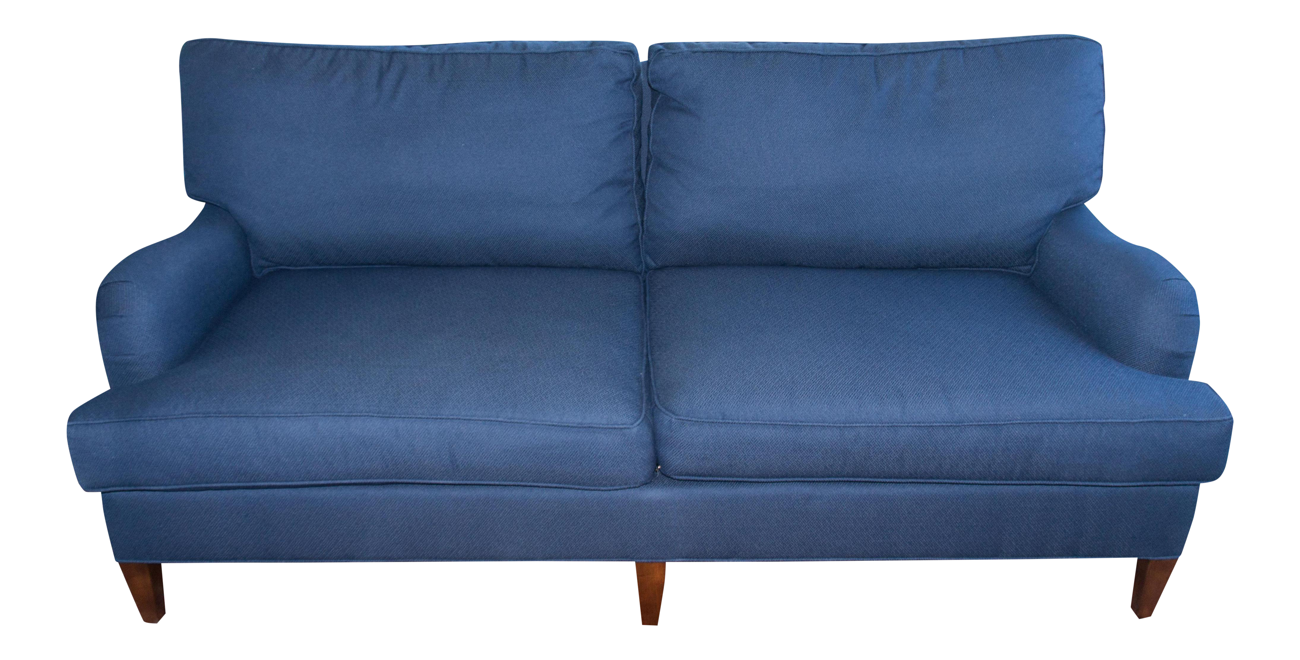 C R Laine Blue Custom Couch