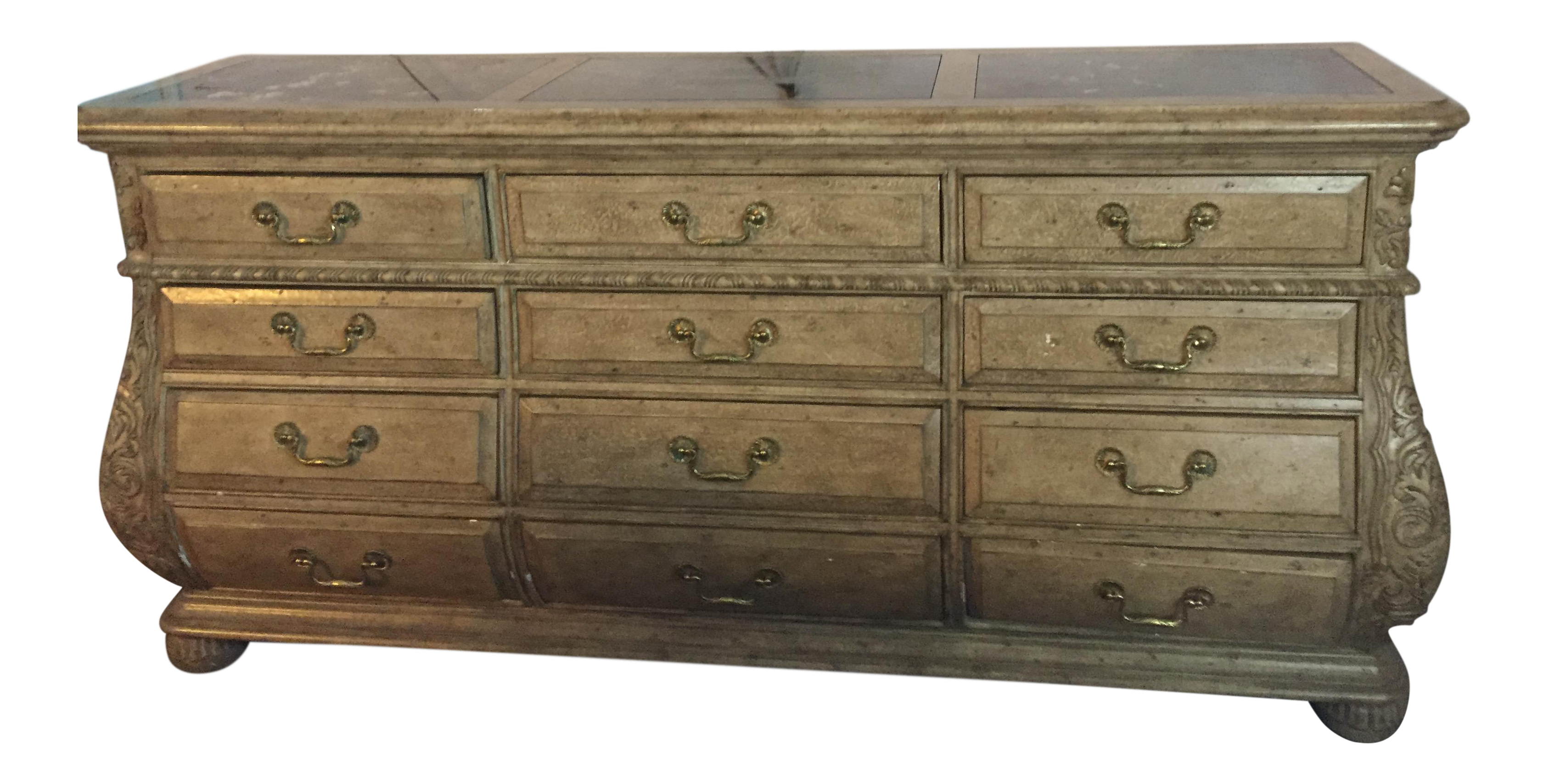 Marge Carson Bedroom 12 Drawer Chest Chairish