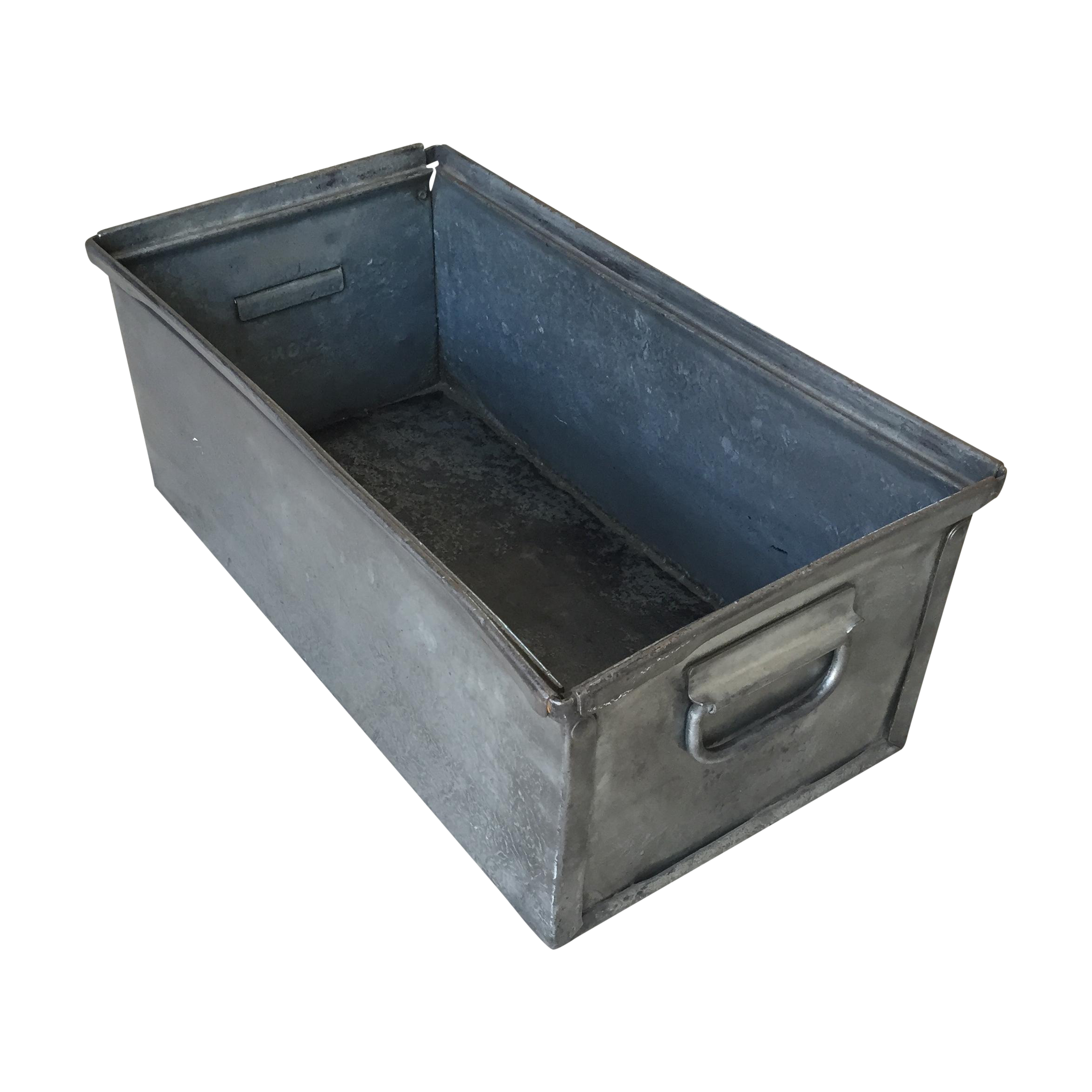 sc 1 st  Chairish : industrial metal storage boxes - Aboutintivar.Com