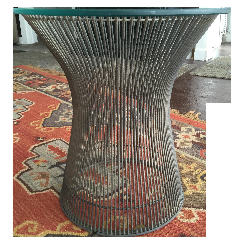 Warren Platner Side Table Chairish : d44092cb 547c 4116 bece 0c85388f8f6a from www.chairish.com size 2428 x 2427 png 8165kB
