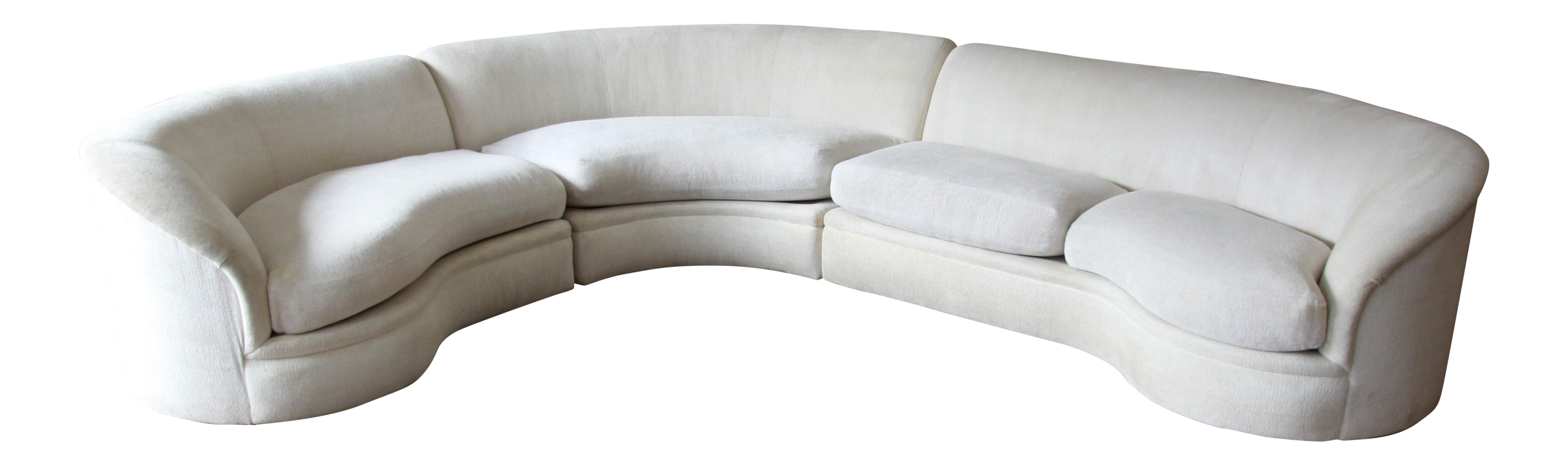 Vladimir Kagan for Directional 3 Piece Sectional
