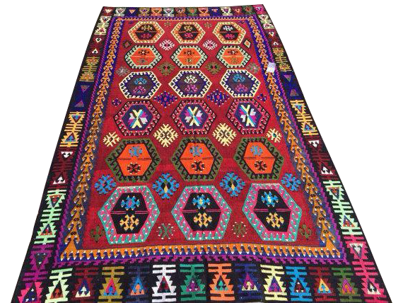 Vintage Turkish Kilim Rug 6 3 Quot X 10 9 Quot Chairish