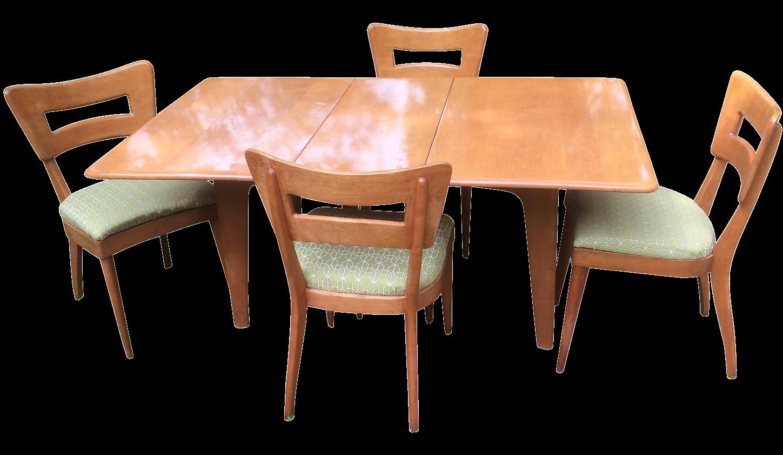 Heywood-Wakefield Mid-Century Modern Dining Set | Chairish