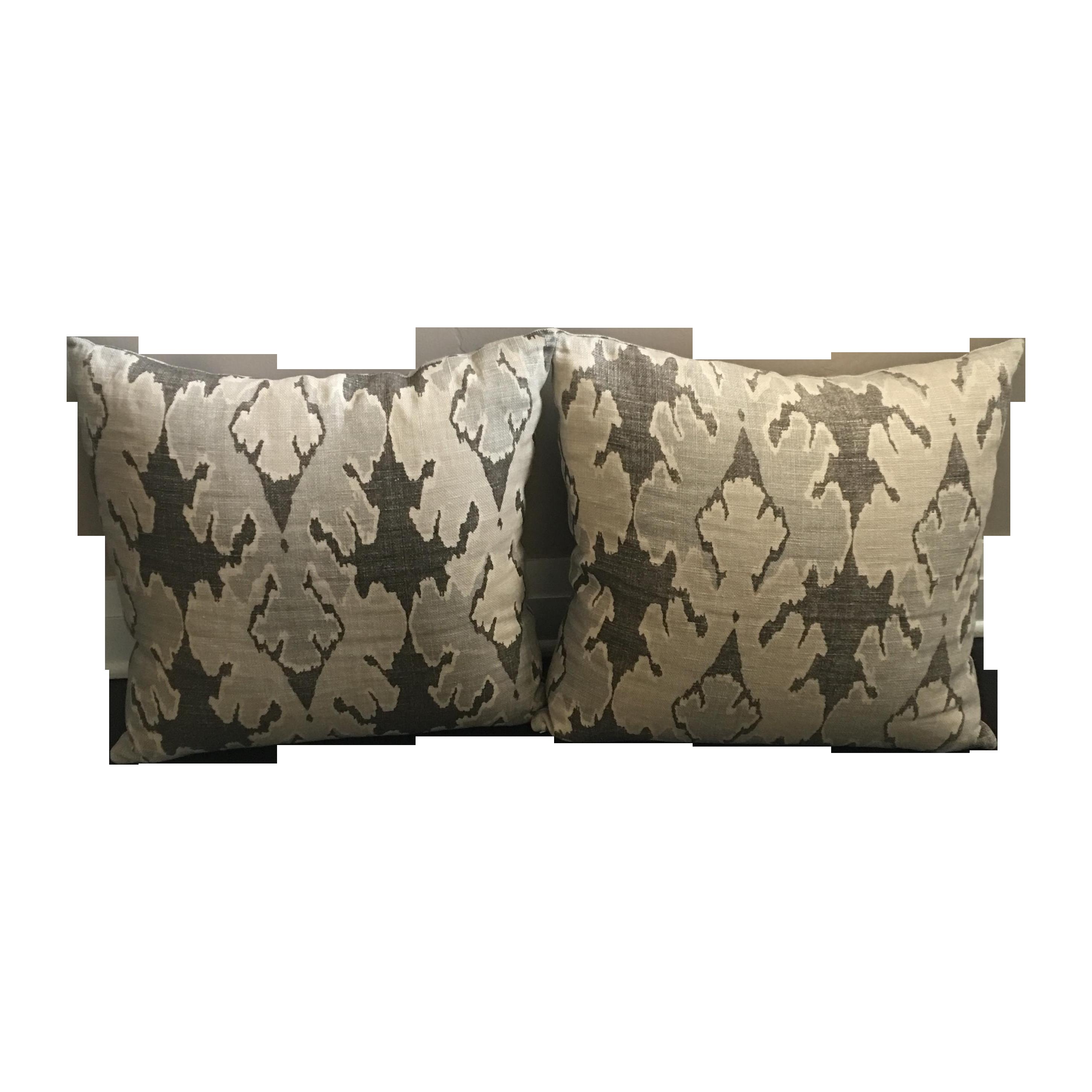 Kelly Wearstler Bengal Bazaar Pillows Pair Chairish