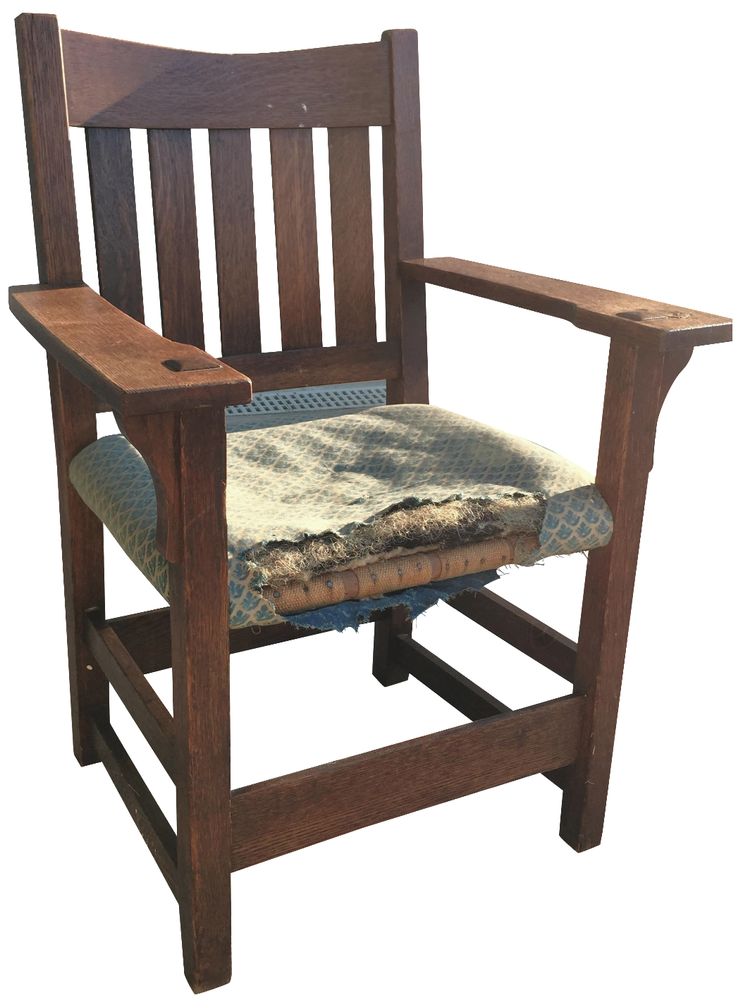 Early 19th C Gustav Stickley Armchair Chairish