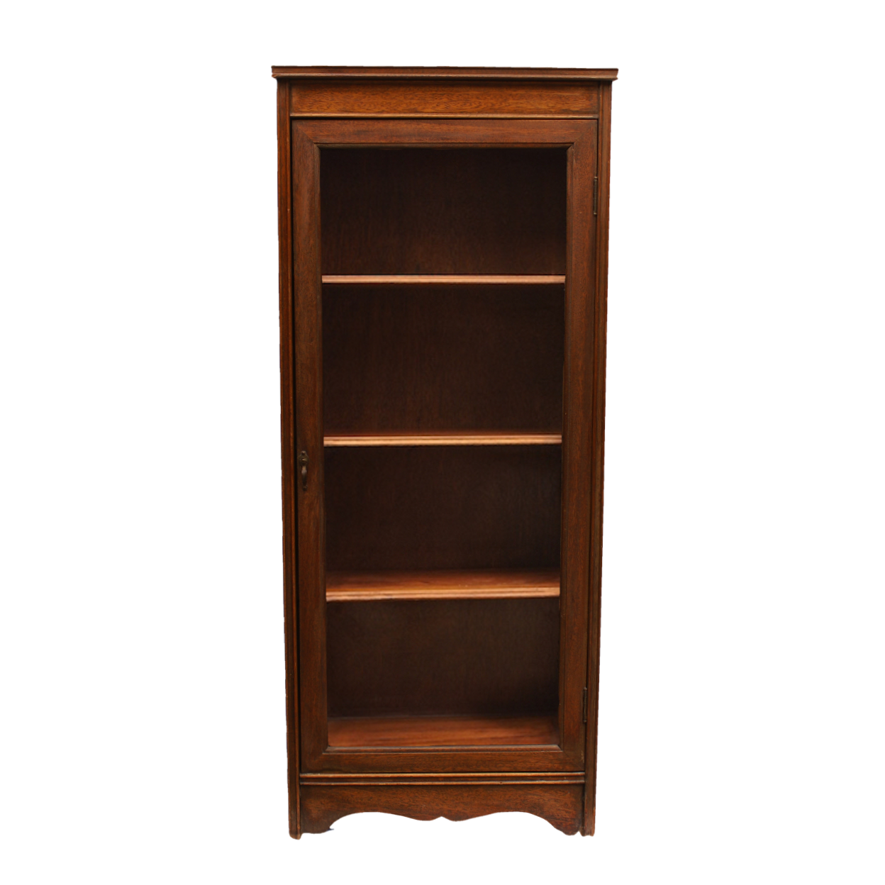 Very Impressive portraiture of Glass Door Bookcase Chairish with #AD5315 color and 1248x1248 pixels