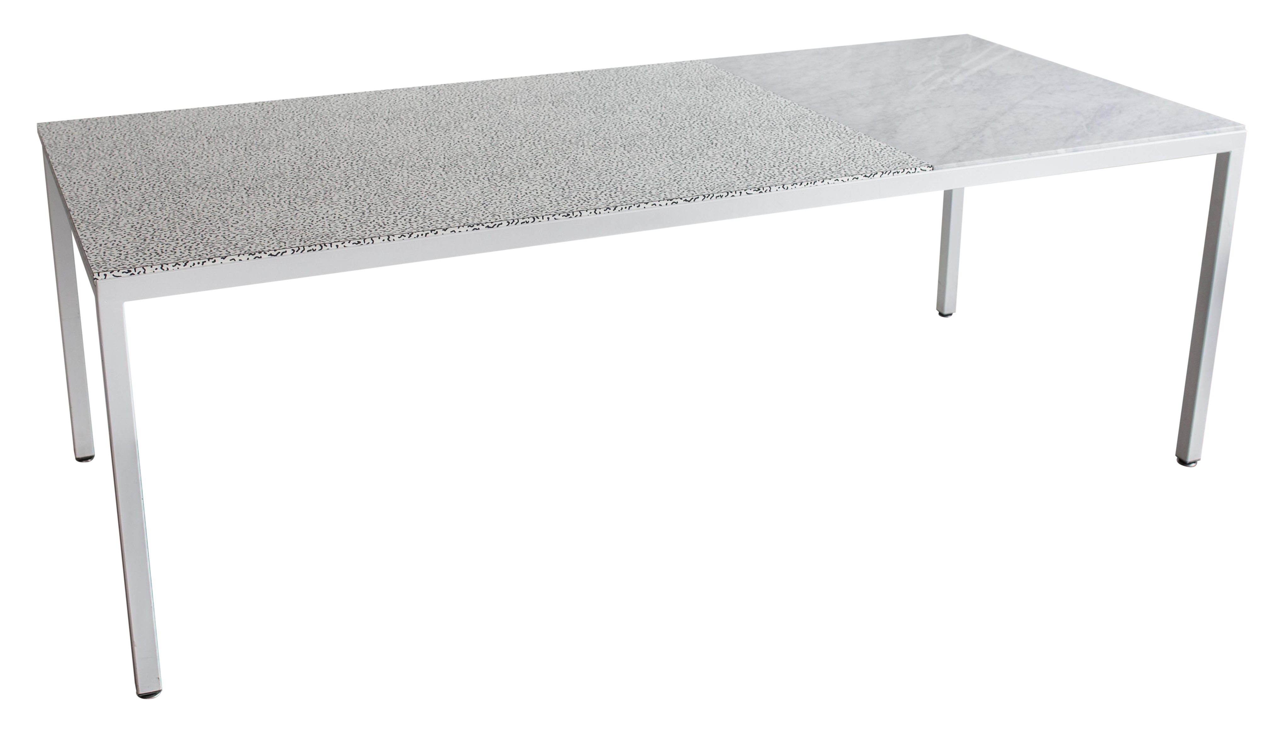 Marble top table - Image Of Joseph Magliaro Deco And Marble Top Table