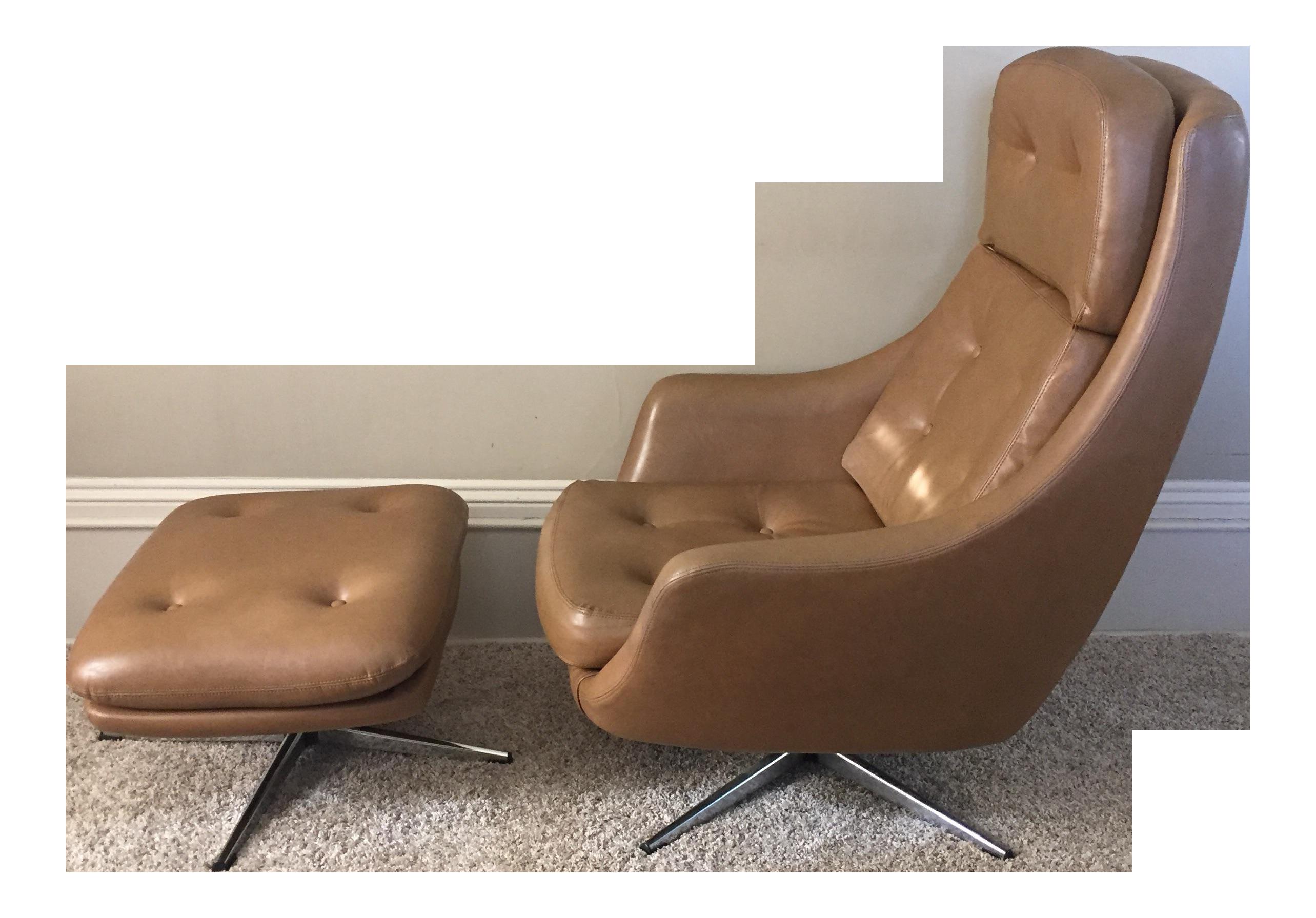 mid century overman lounge