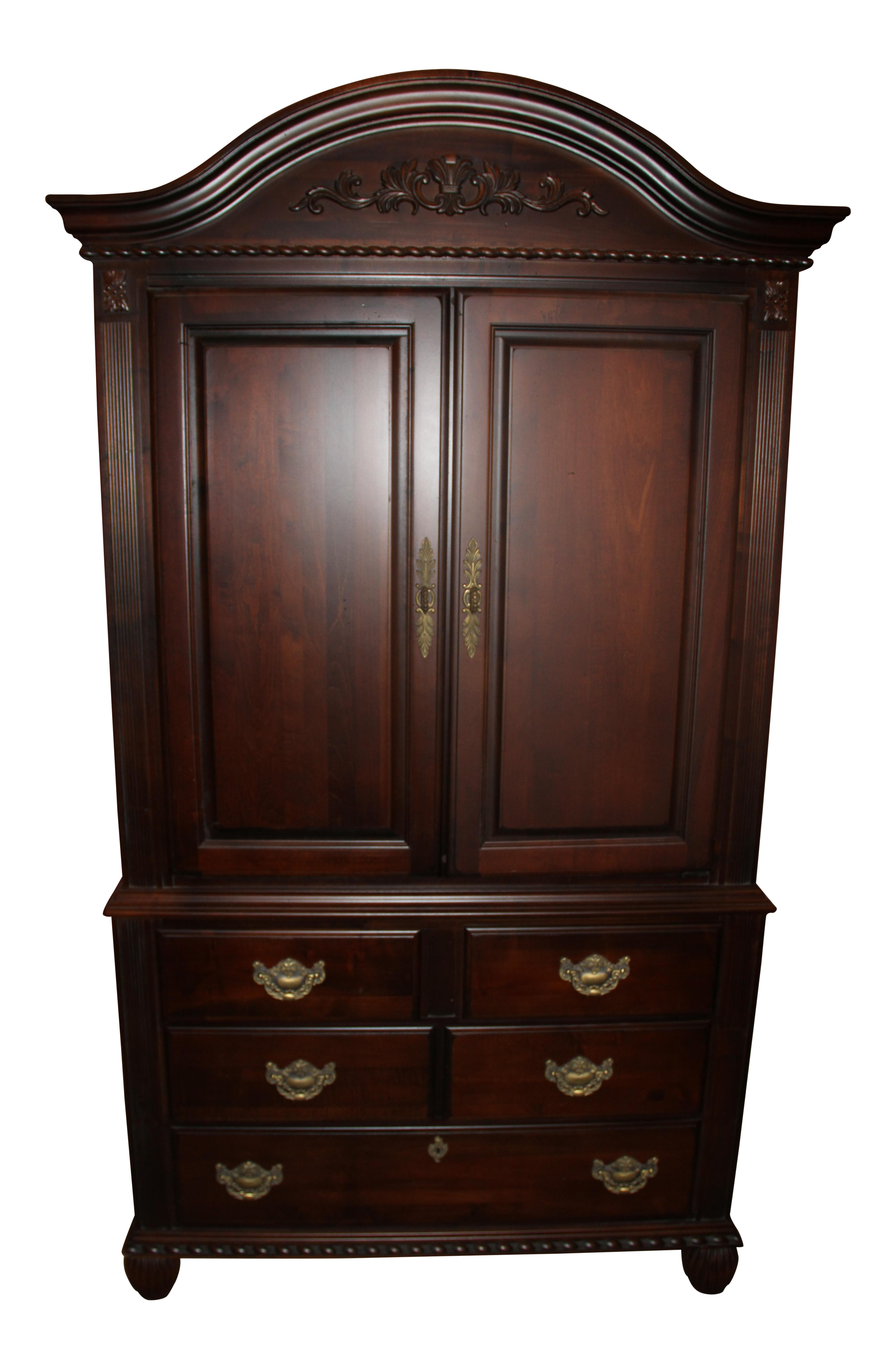 Kincaid bedroom armoire chairish for Master bedroom set with armoire