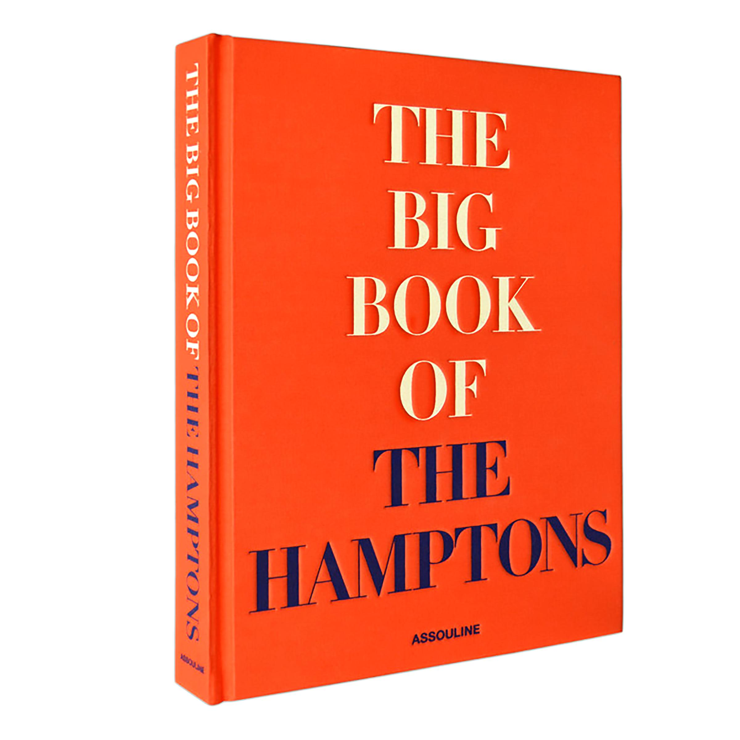 "French Riviera Coffee Table Book: Assouline's ""The Big Book Of The Hamptons"" Large Fabric"