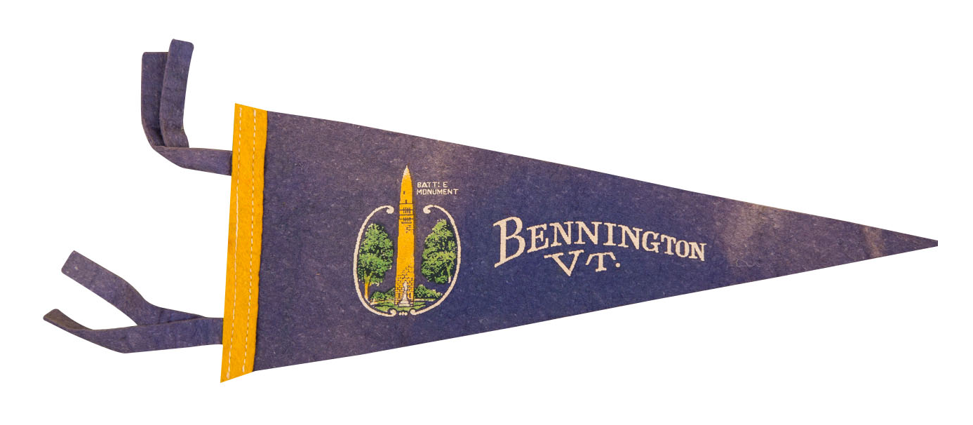 Bennington Vermont Battle Monument Felt Flag Chairish