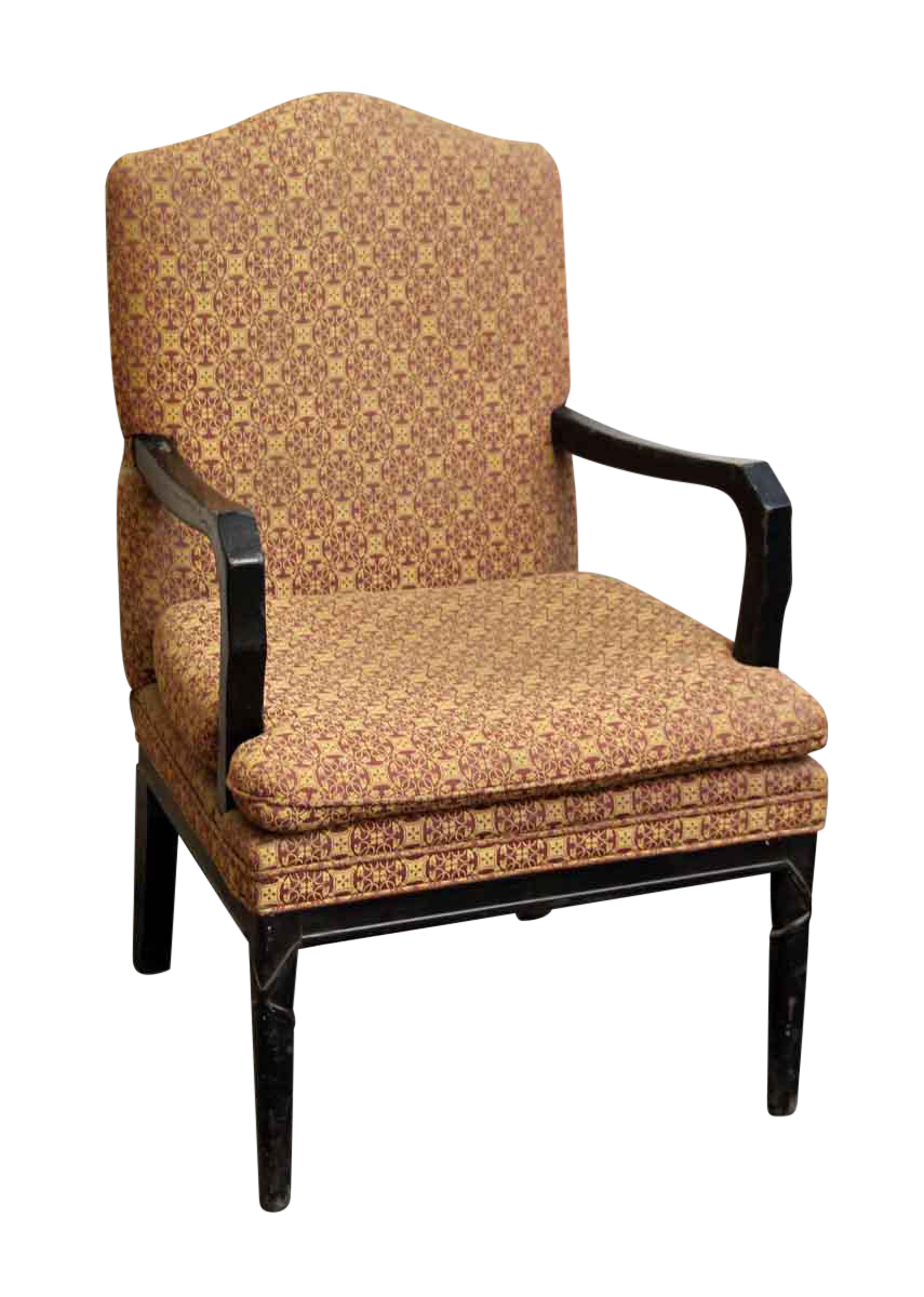Decorative Arm Chairs ~ Arm chair with decorative patterned upholstery chairish