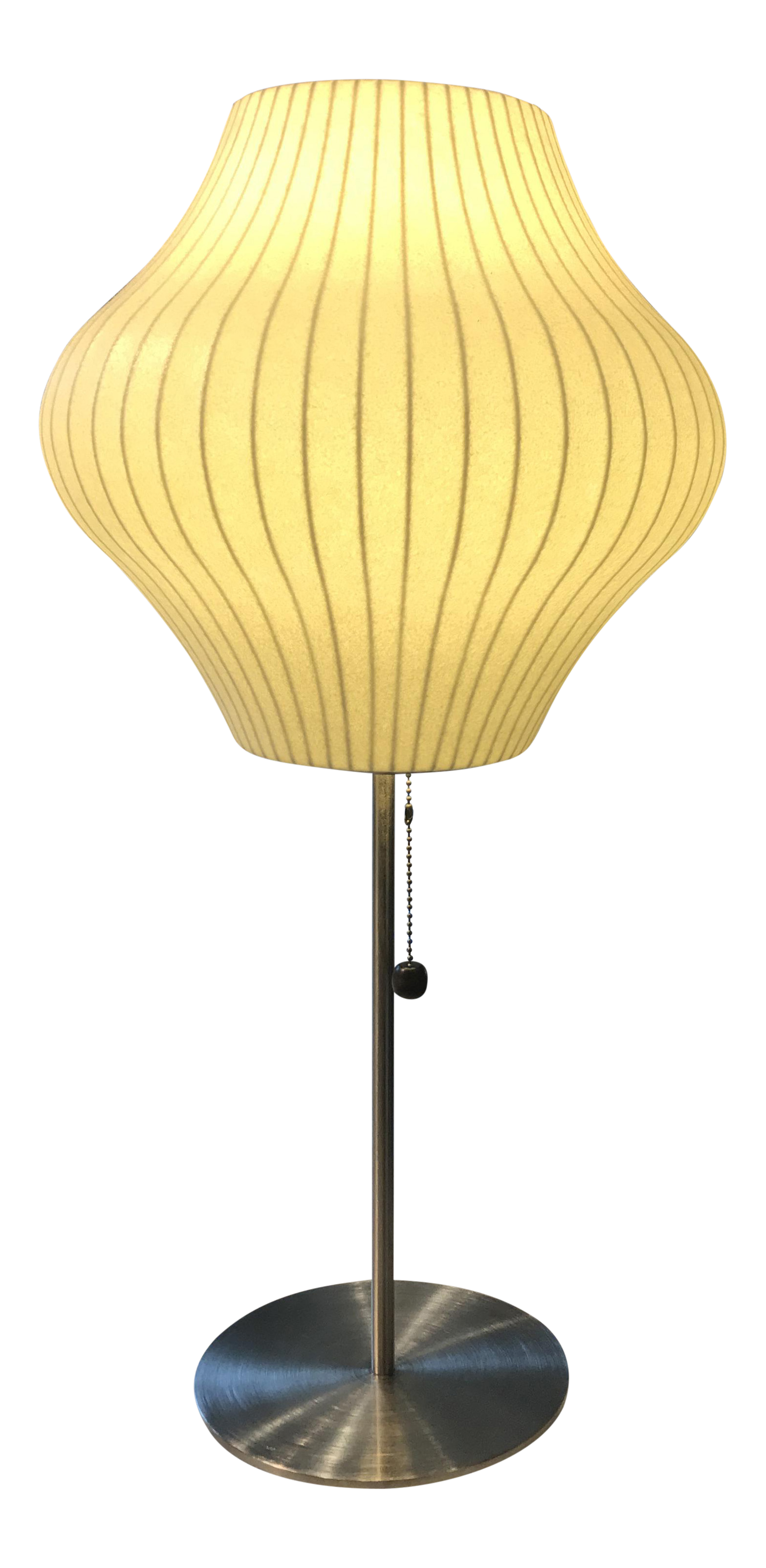 George nelson bubble table lamp chairish geotapseo Image collections