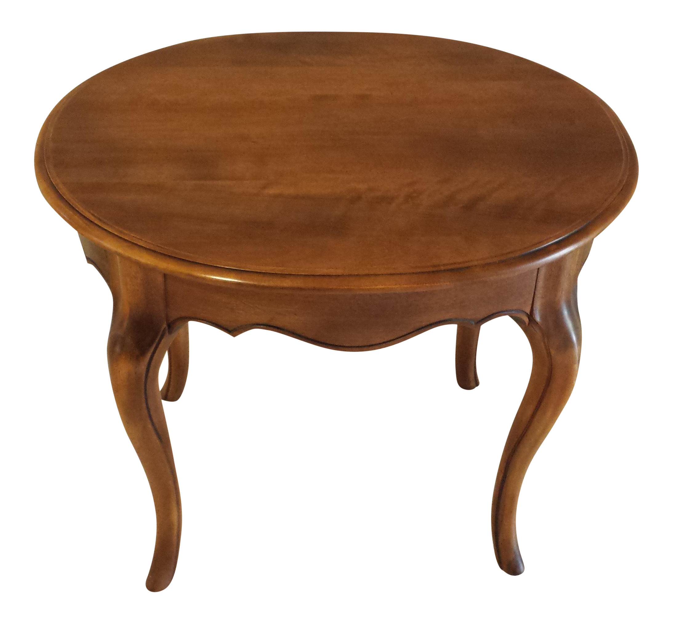 Ethan Allen French Country Oval End Table