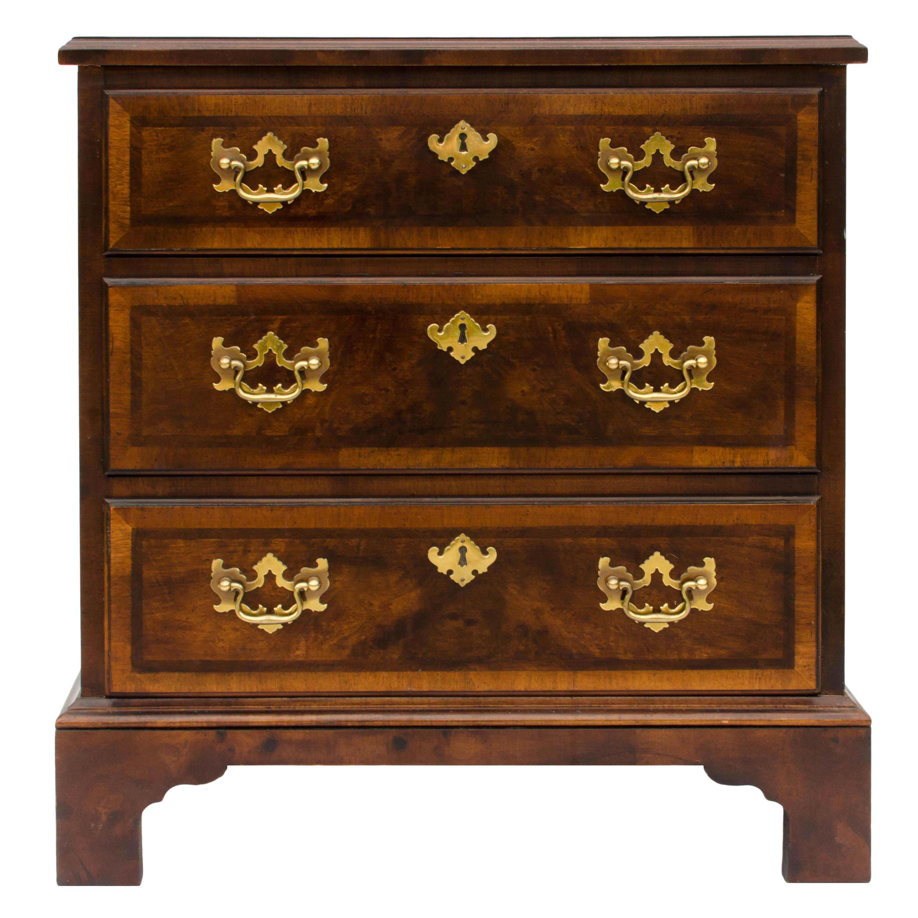 Henredon Aston Court Mahogany Amp Elm Small Chest Side Table