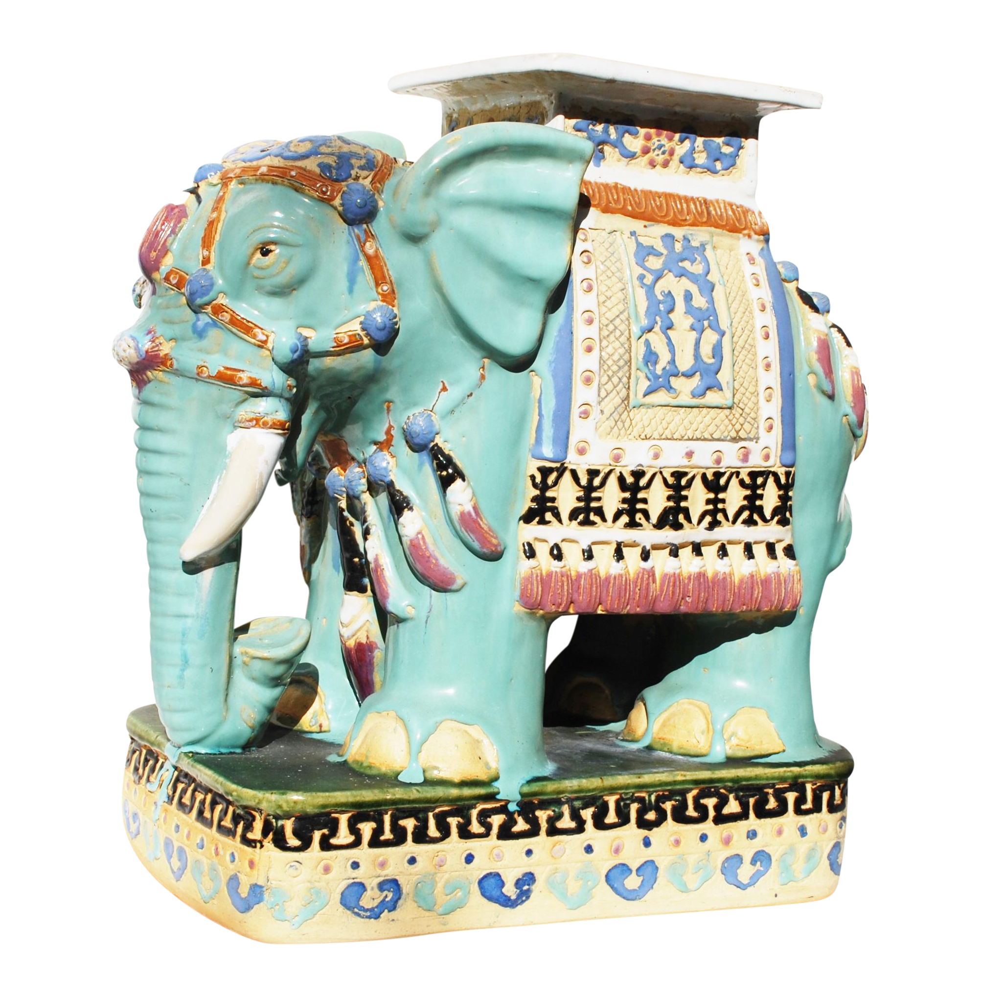 Elephant Garden Stool Bar Stools