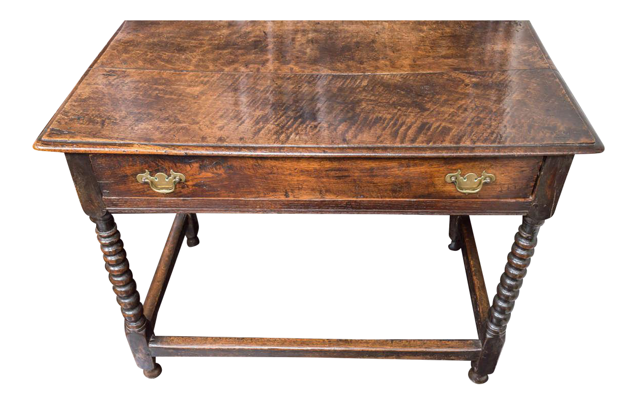 World class english oak side table with single drawer and for C table with drawer