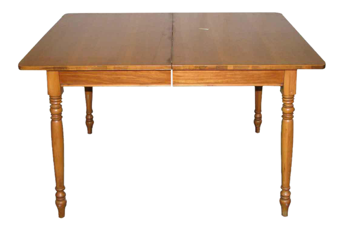 Extendable Small Wooden Dining Table Chairish