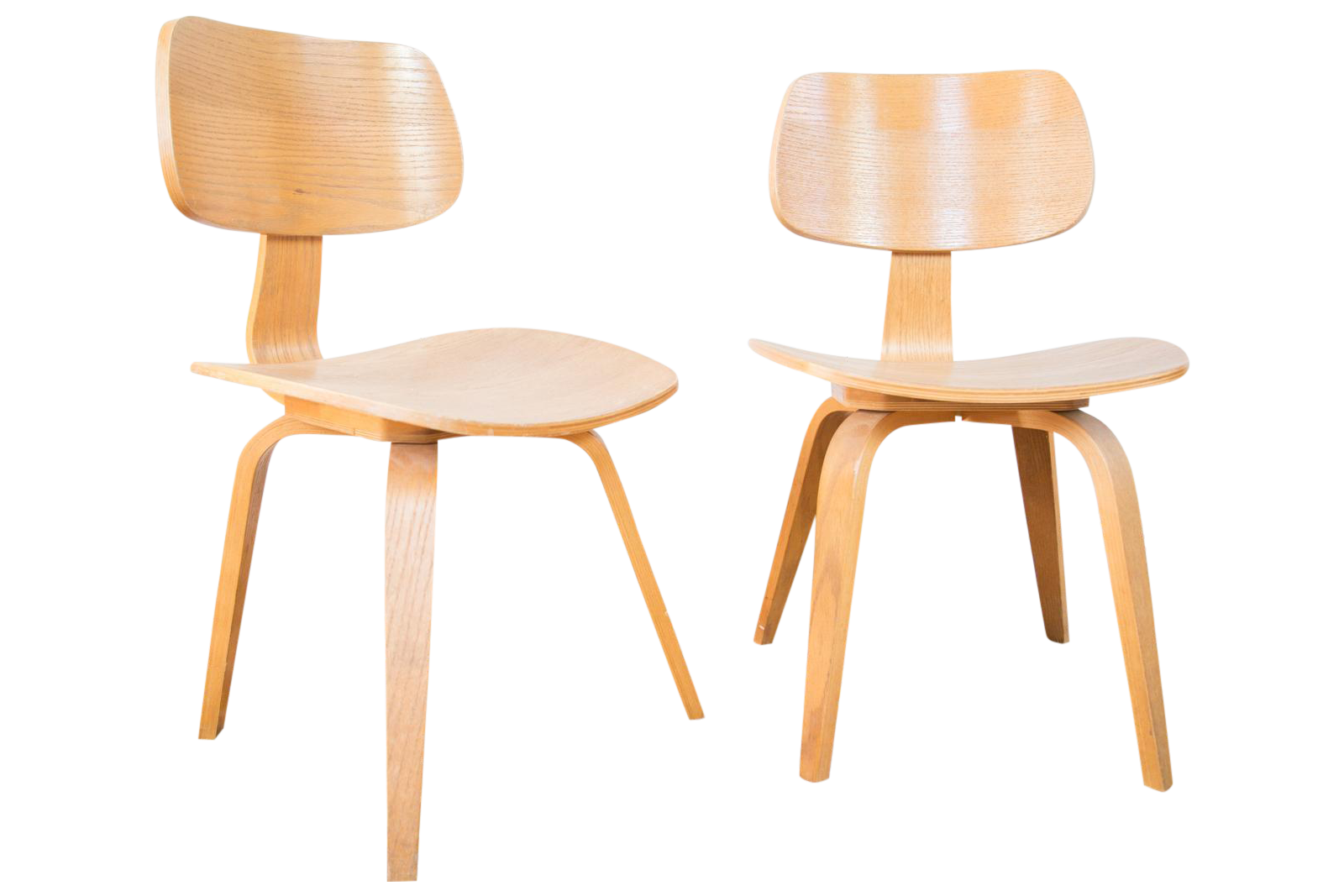 Vintage Thonet Style Wooden Side Chair Pair Chairish