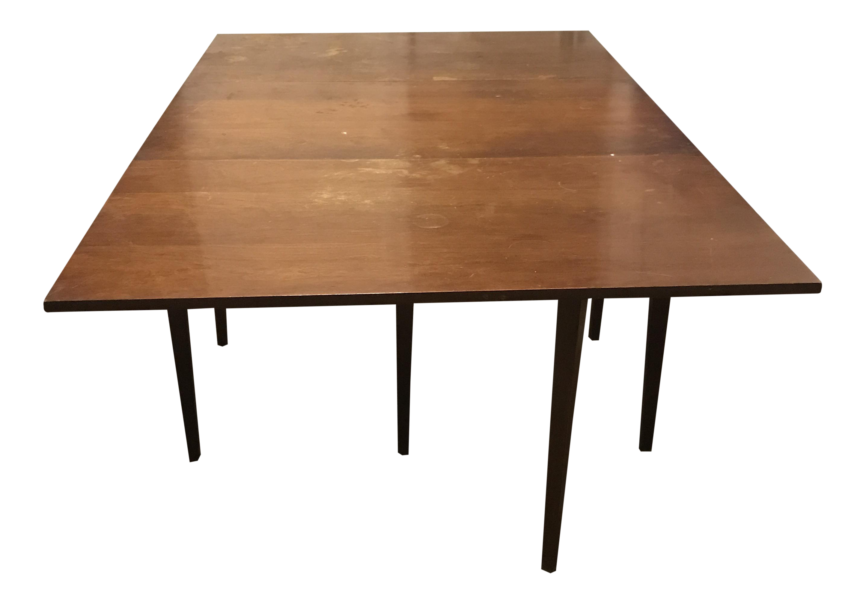Wooden Table With Leaves ~ Wooden farmhouse table with leaves chairish