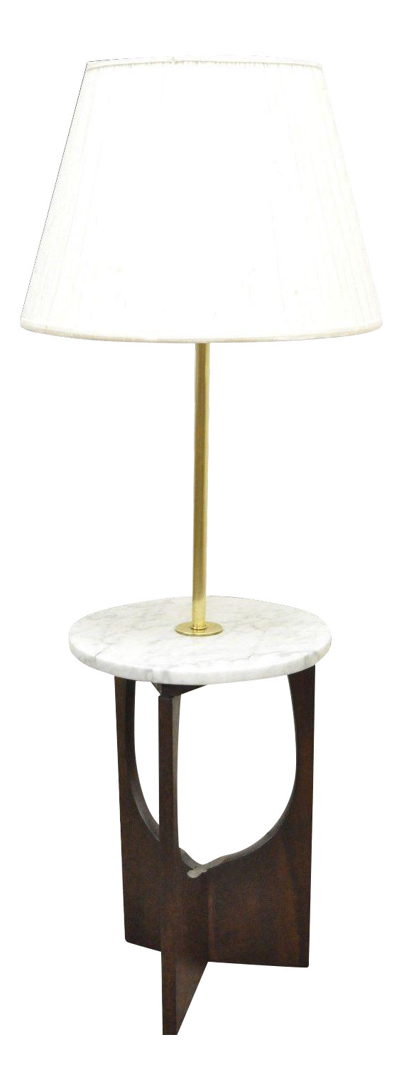 Vintage mid century italian modern marble walnut brass sculptural vintage mid century italian modern marble walnut brass sculptural floor lamp table chairish geotapseo Image collections