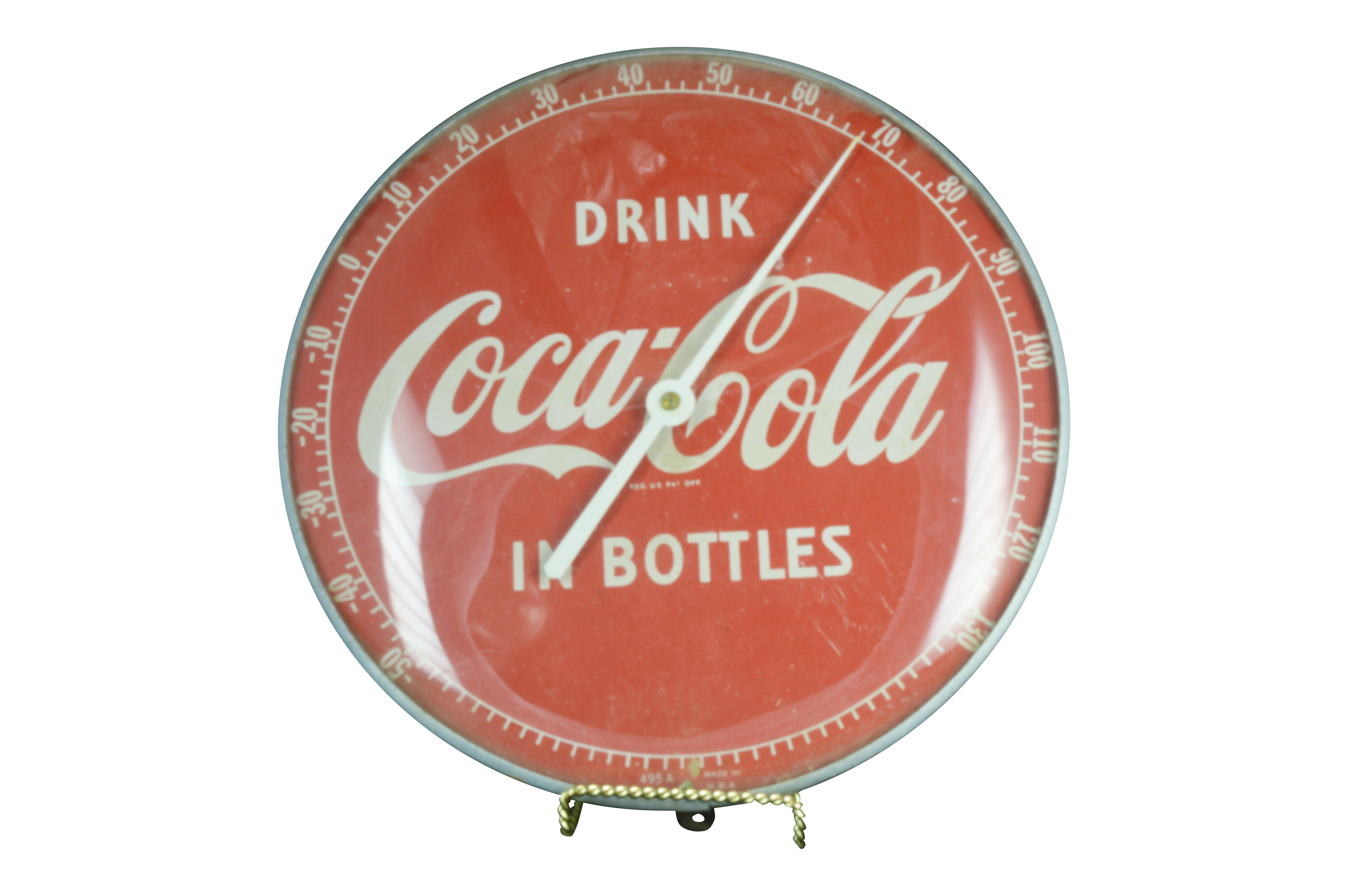 Vintage Coca Cola Thermometer Chairish