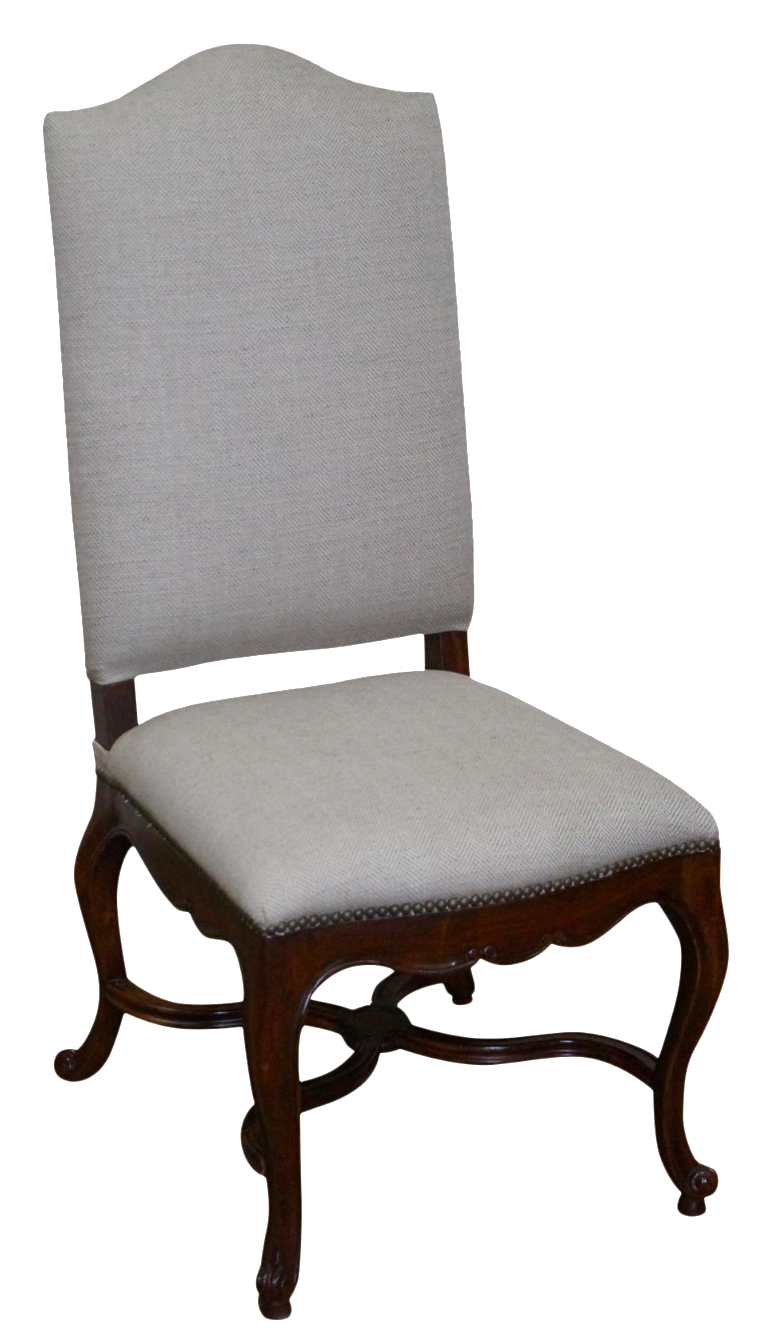Jonathan Charles French Louis Xv Style High Back Side
