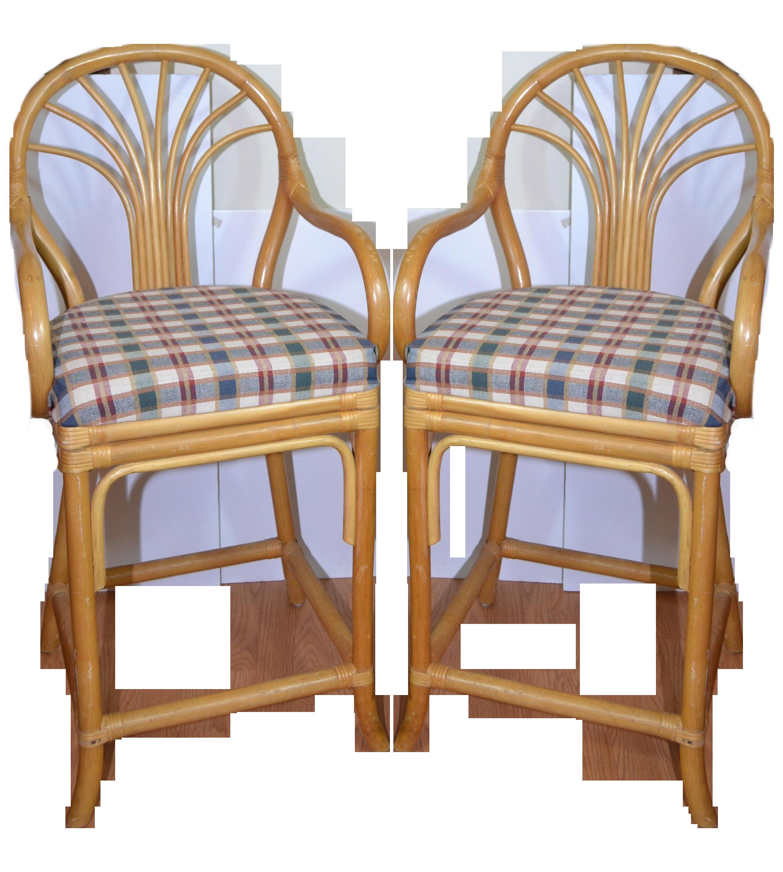 fleur de lis bar stools. Image Of Vintage Rattan Bar Stools Set B Stool Fleur De Lis