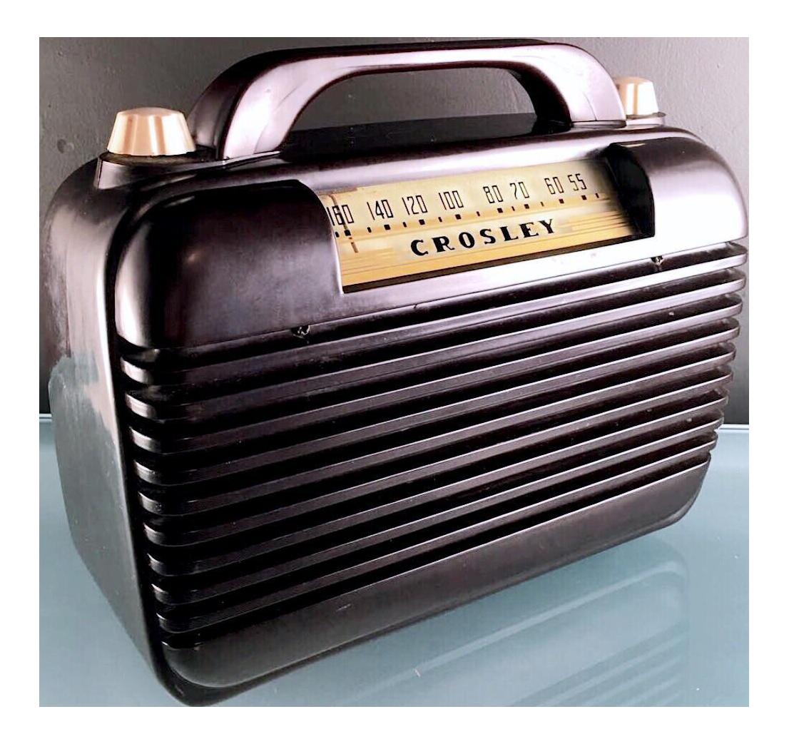 Crosley Portable Radio Model 56pa Chairish