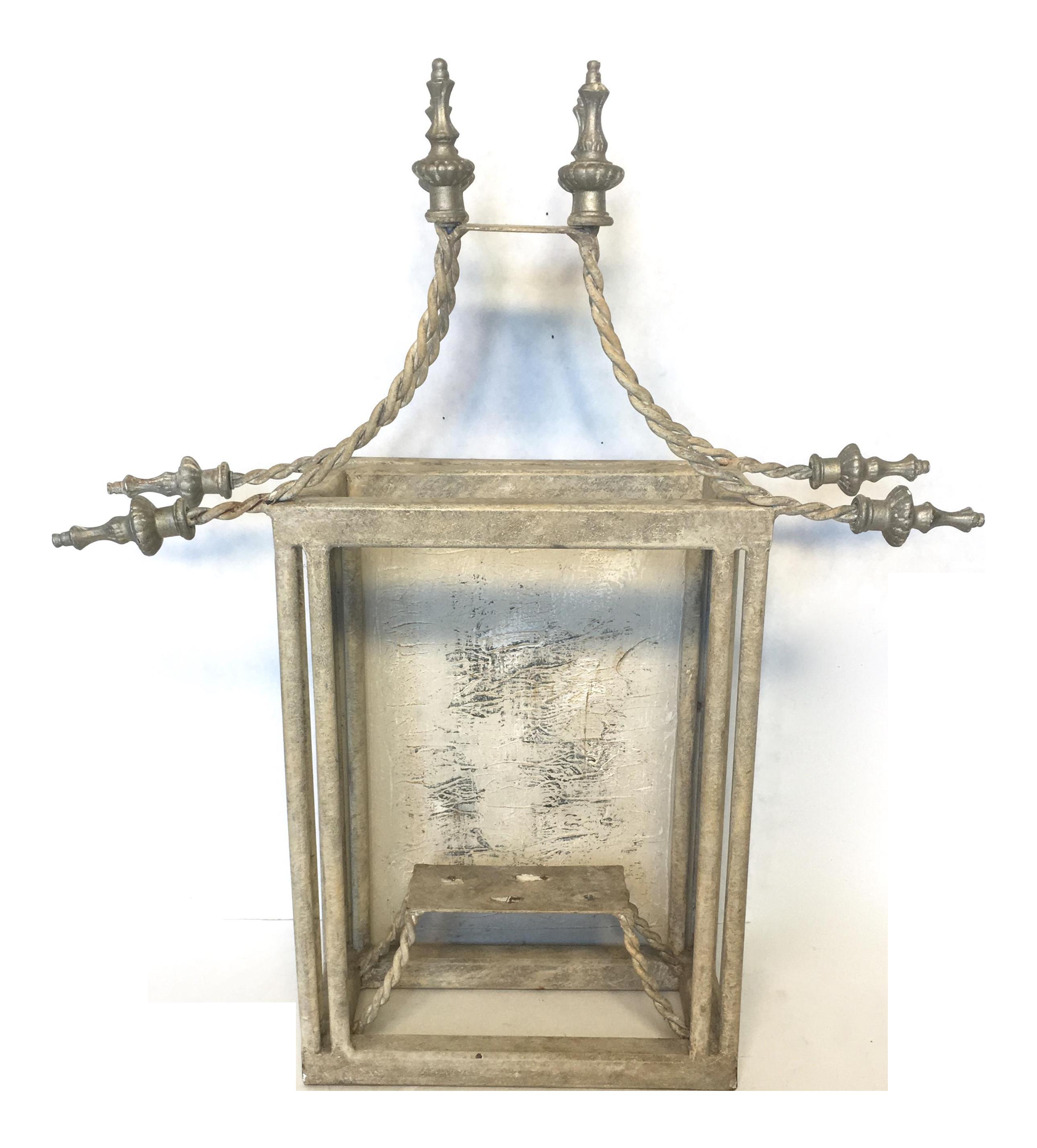 Vintage John Richard Pagoda Wall Lantern Chairish